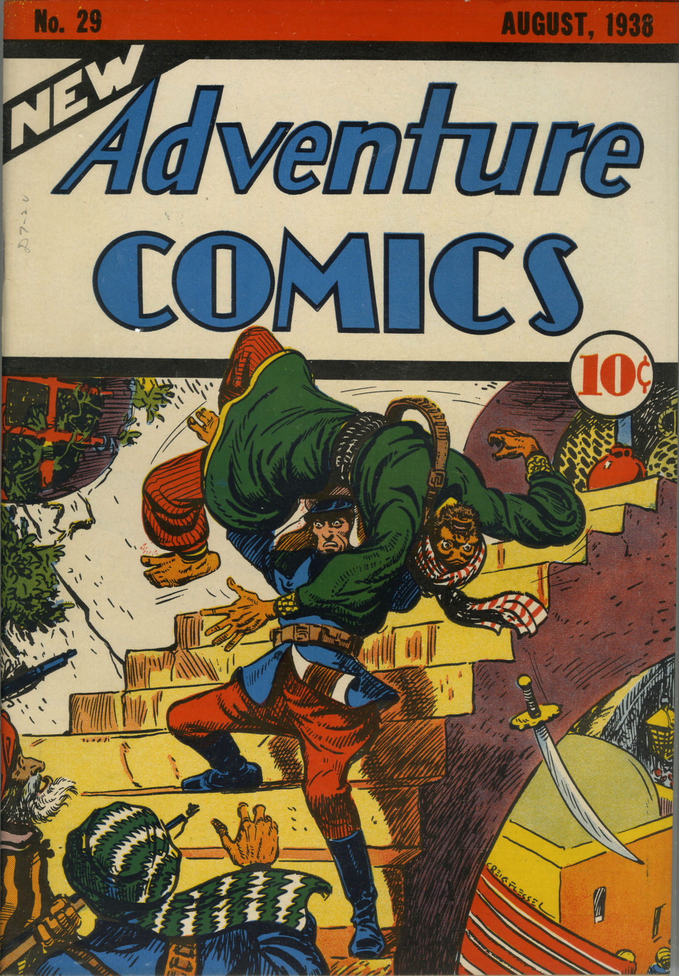 Read online Adventure Comics (1938) comic -  Issue #29 - 2