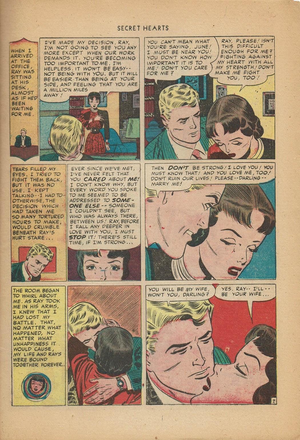Read online Secret Hearts comic -  Issue #2 - 17