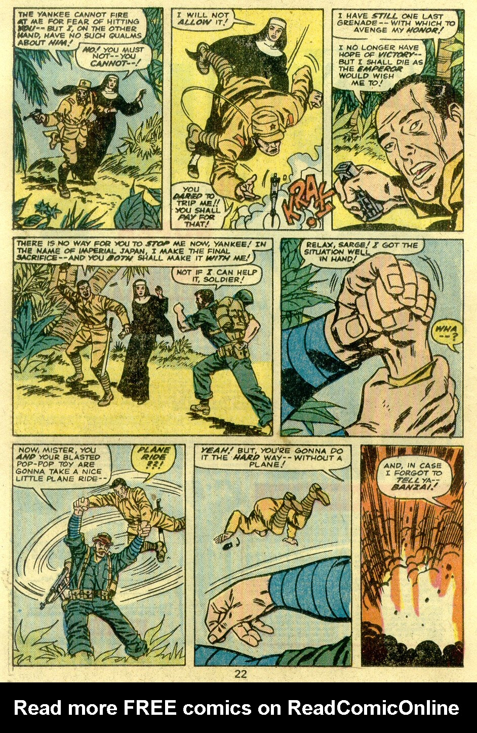 Read online Sgt. Fury comic -  Issue #125 - 24