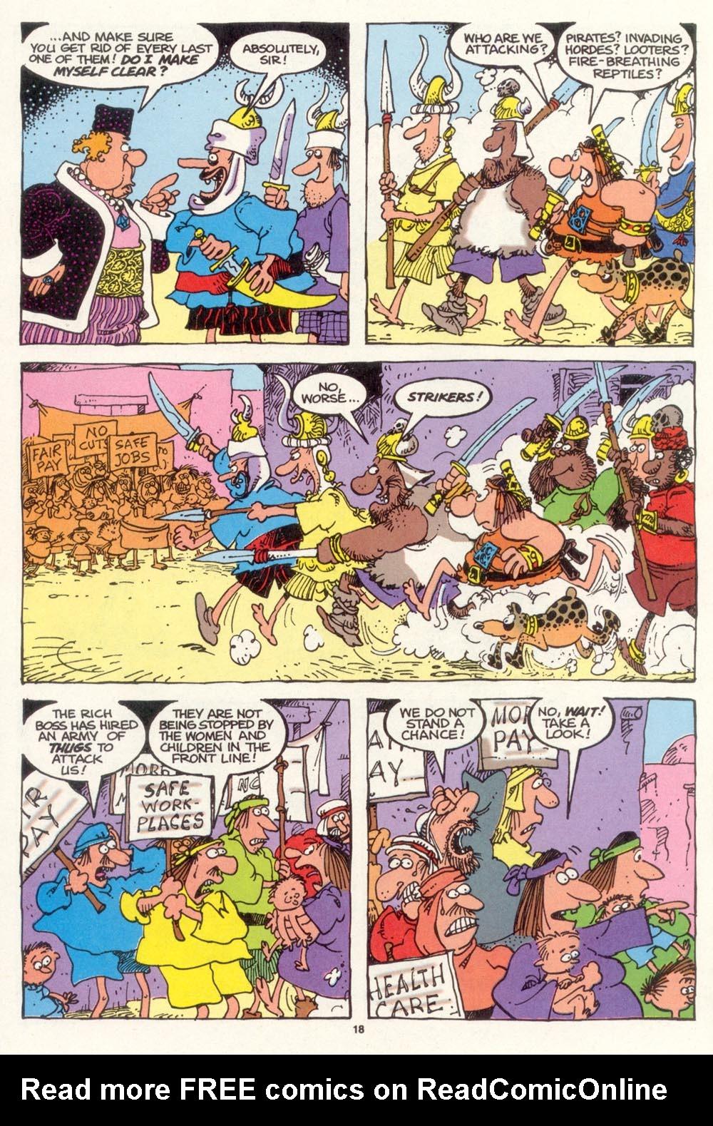 Read online Sergio Aragonés Groo the Wanderer comic -  Issue #102 - 20