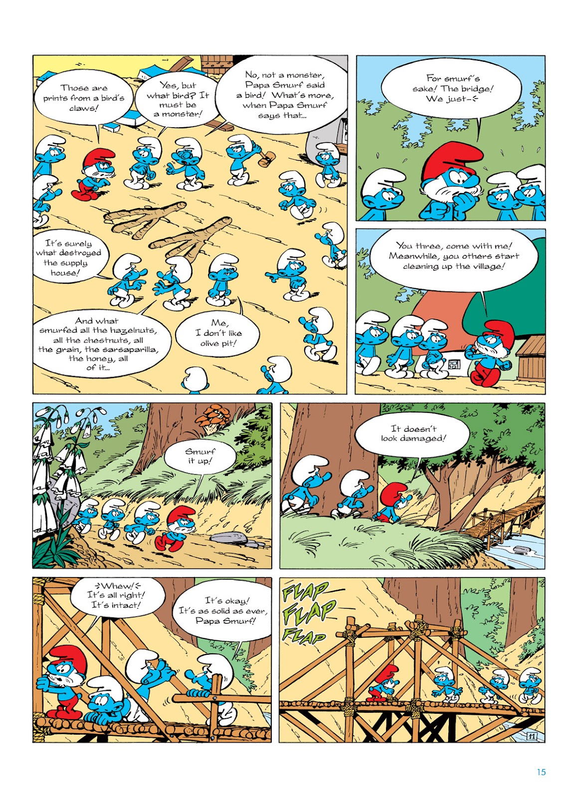 Read online The Smurfs comic -  Issue #6 - 15