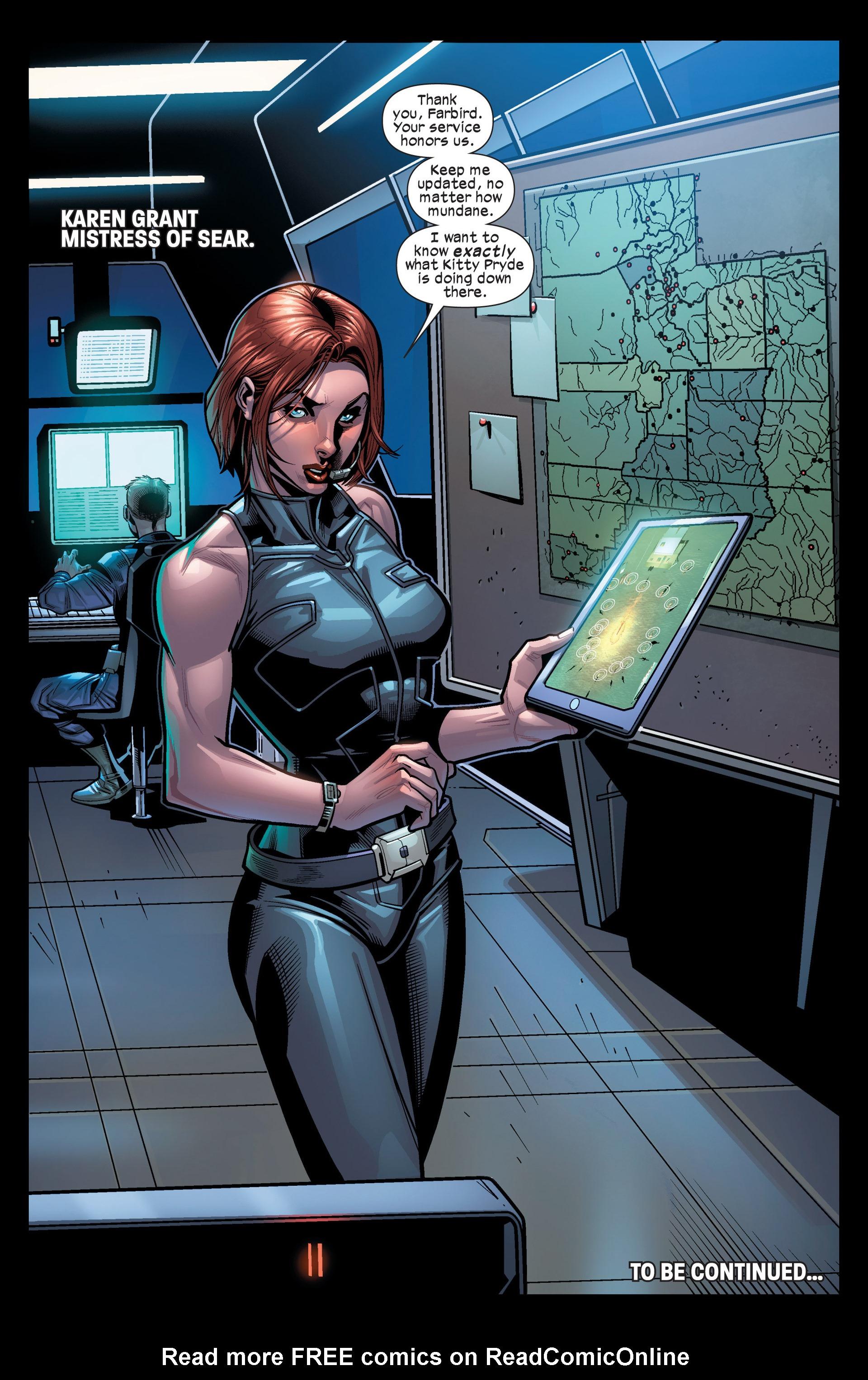 Read online Ultimate Comics X-Men comic -  Issue #19 - 22