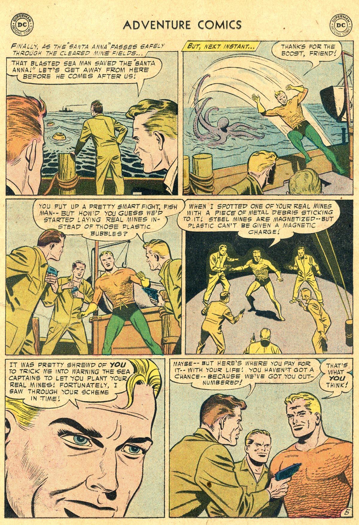 Read online Adventure Comics (1938) comic -  Issue #238 - 22