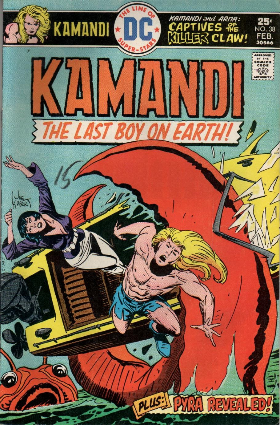 Kamandi, The Last Boy On Earth issue 38 - Page 1