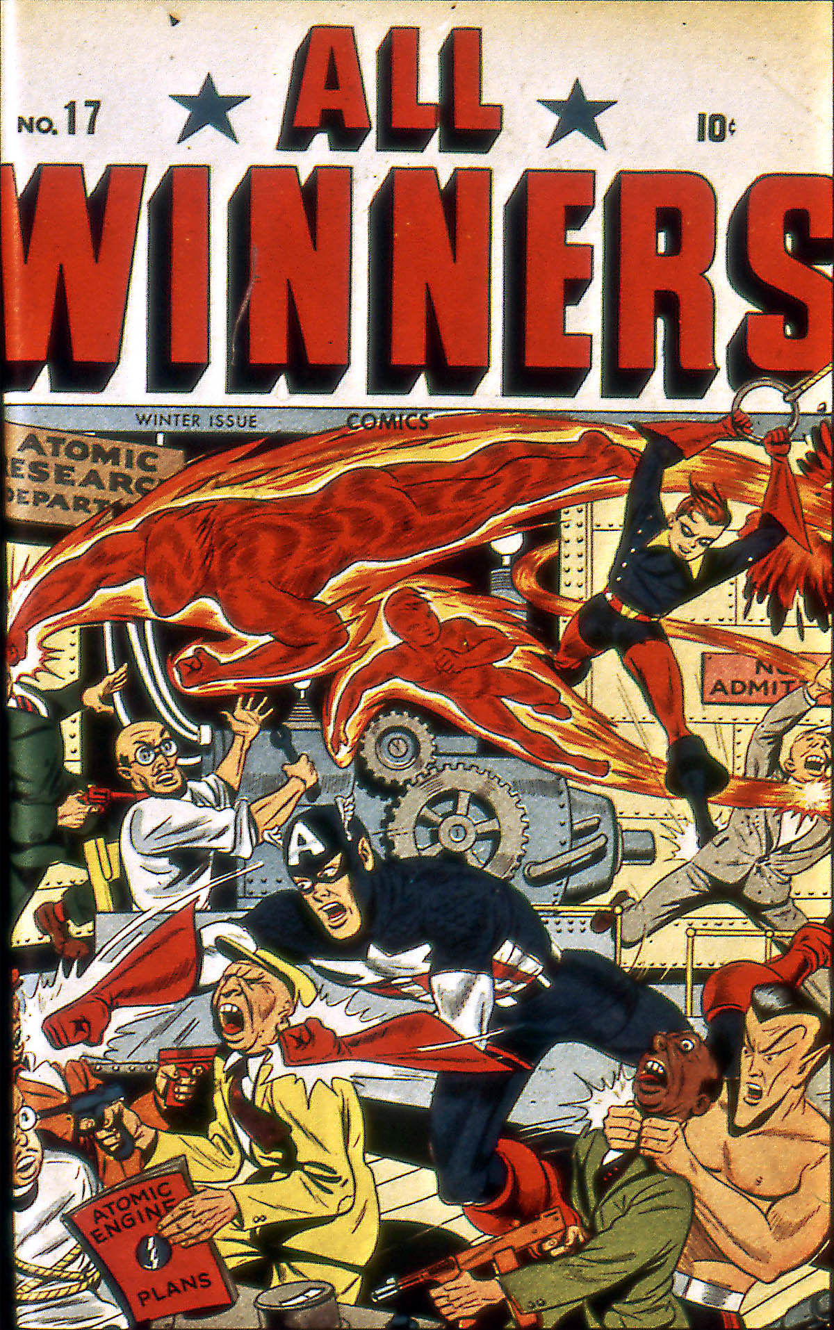 Read online All-Winners Comics comic -  Issue #17 - 2