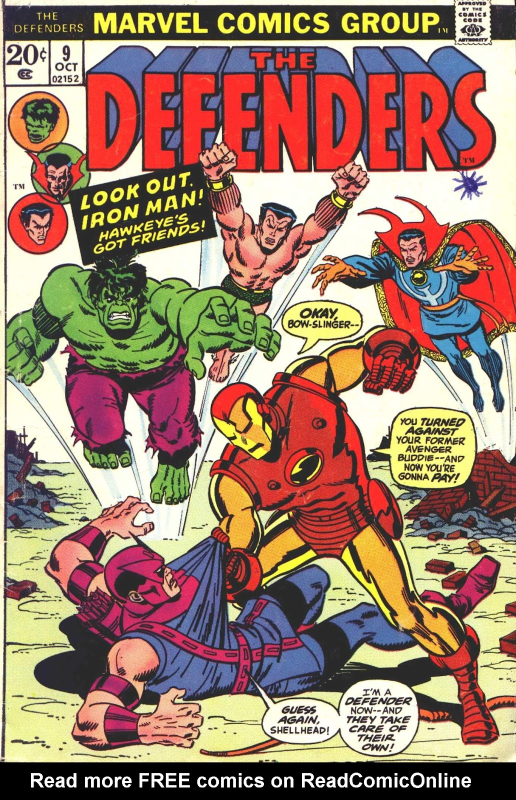 The Defenders (1972) issue 9 - Page 1