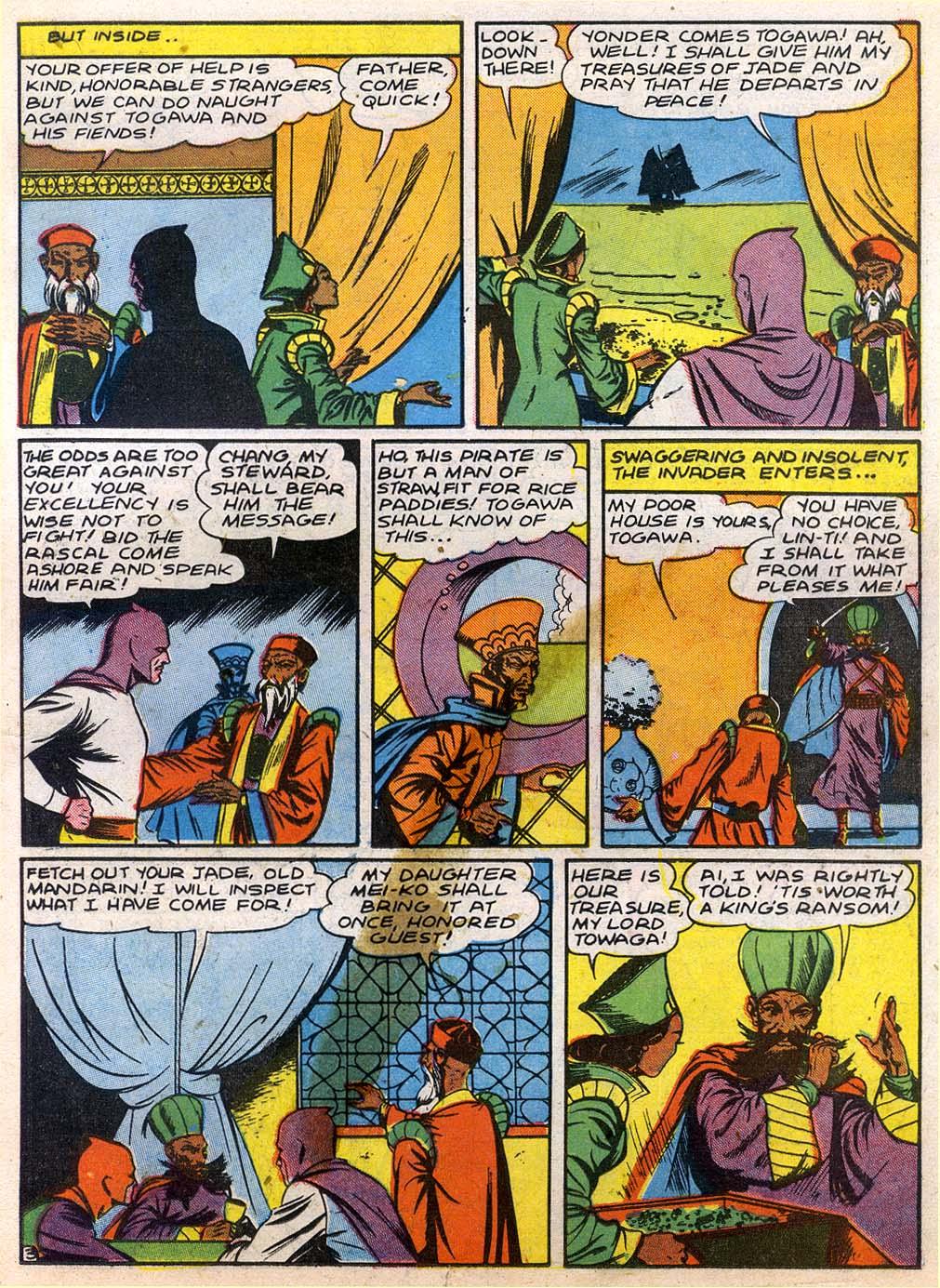 Read online Sensation (Mystery) Comics comic -  Issue #27 - 19