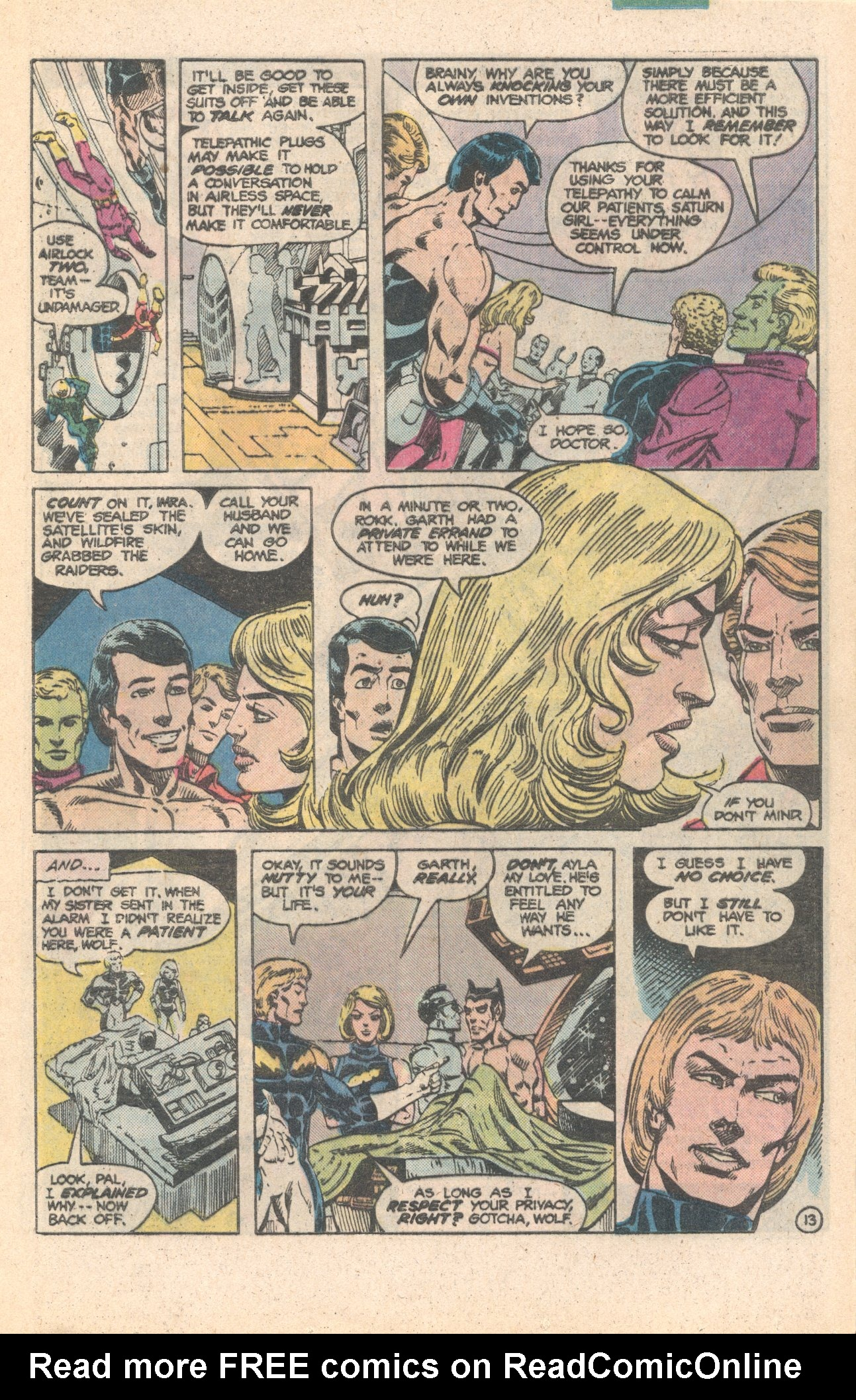 Legion of Super-Heroes (1980) 284 Page 13