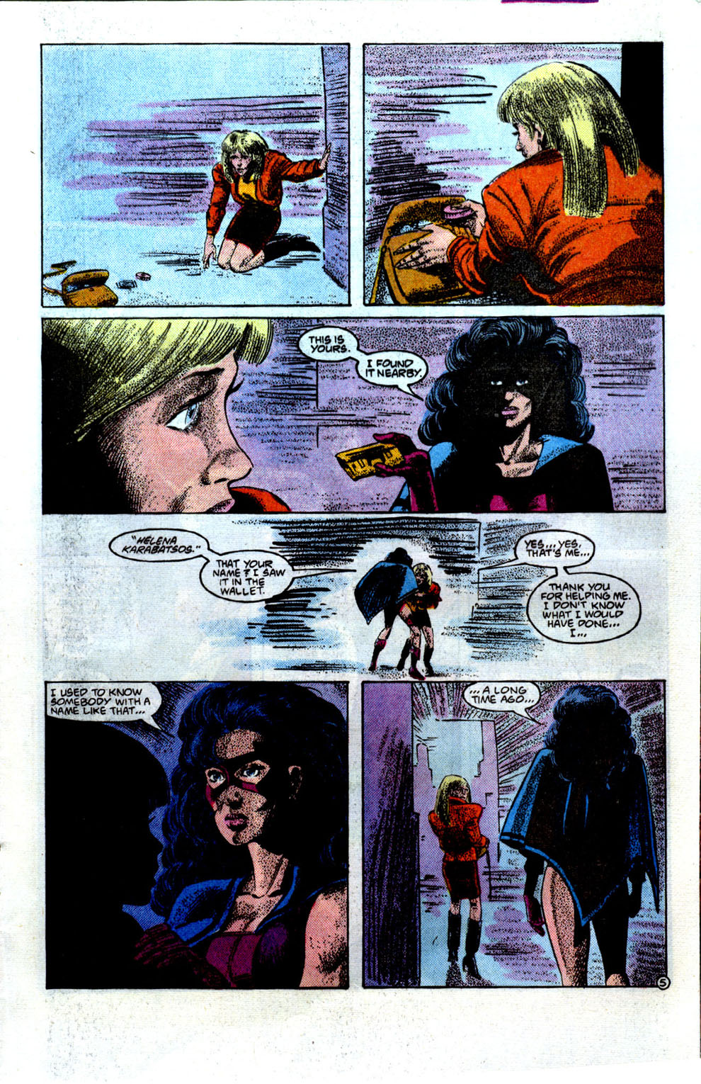Read online The Huntress comic -  Issue #1 - 6