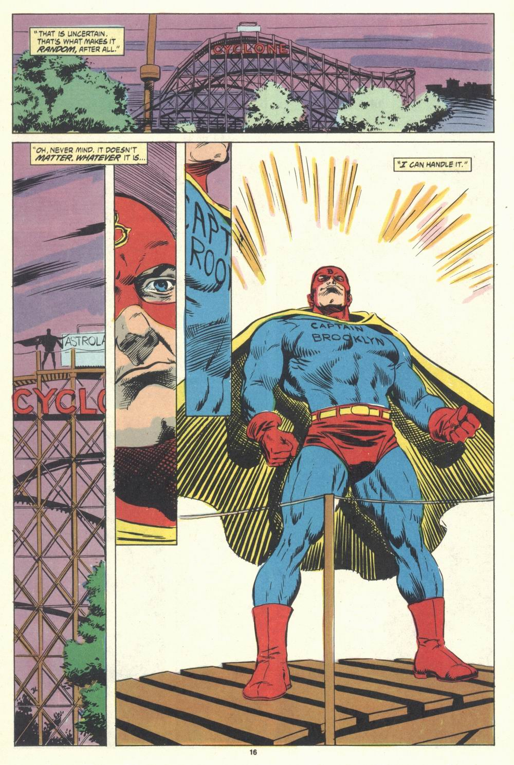 Read online Justice (1986) comic -  Issue #31 - 18