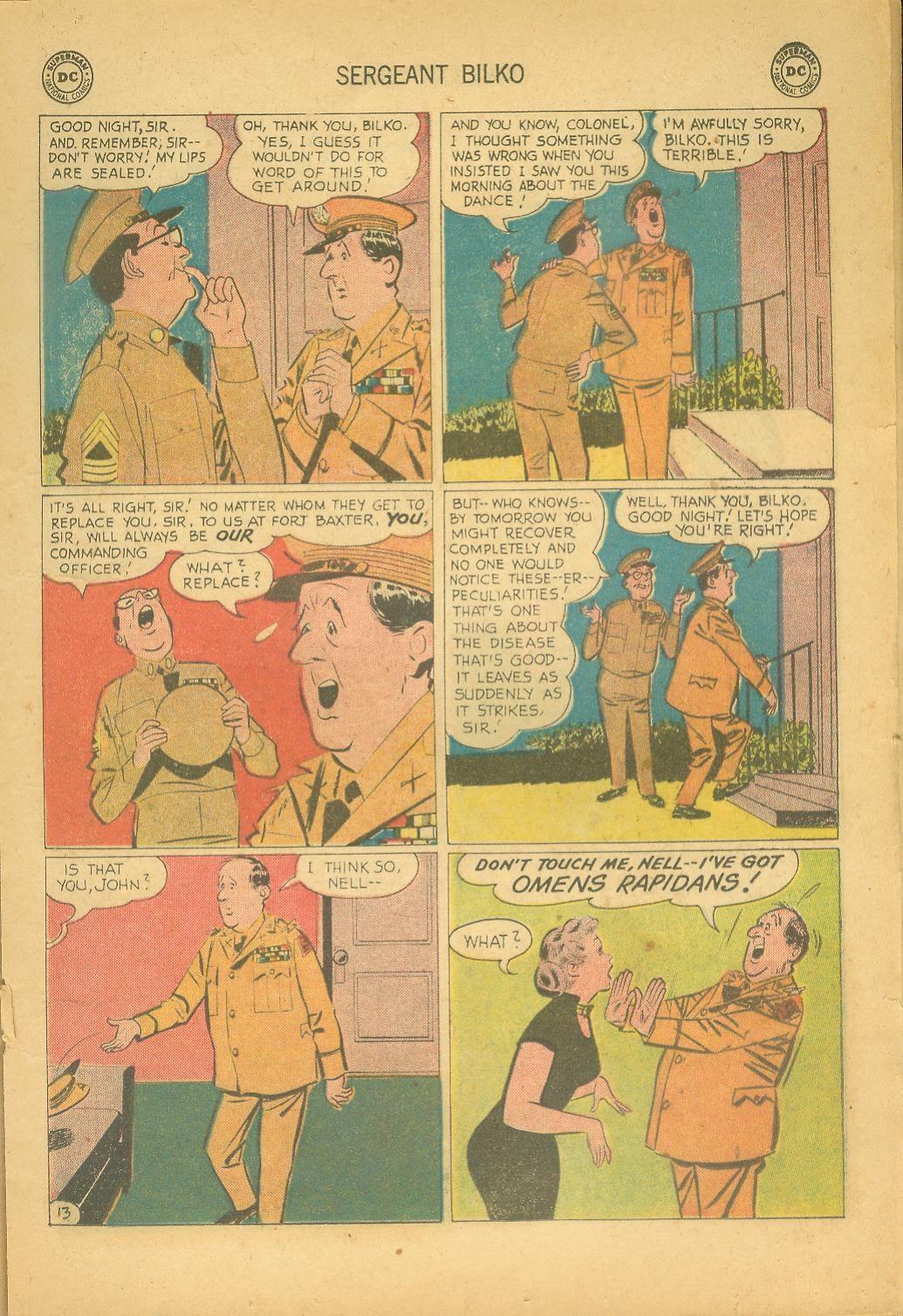 Sergeant Bilko issue 8 - Page 17