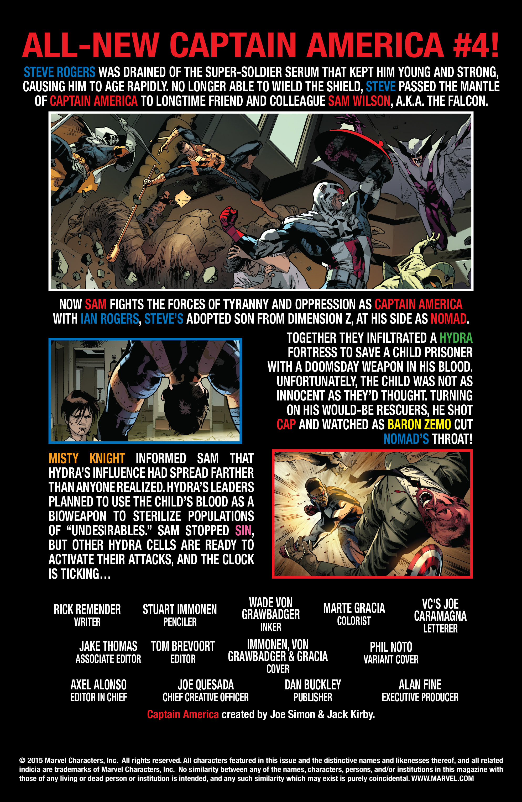 Read online All-New Captain America comic -  Issue #4 - 2