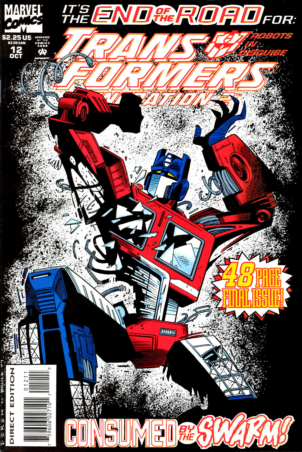 Read online Transformers: Generation 2 comic -  Issue #12 - 1