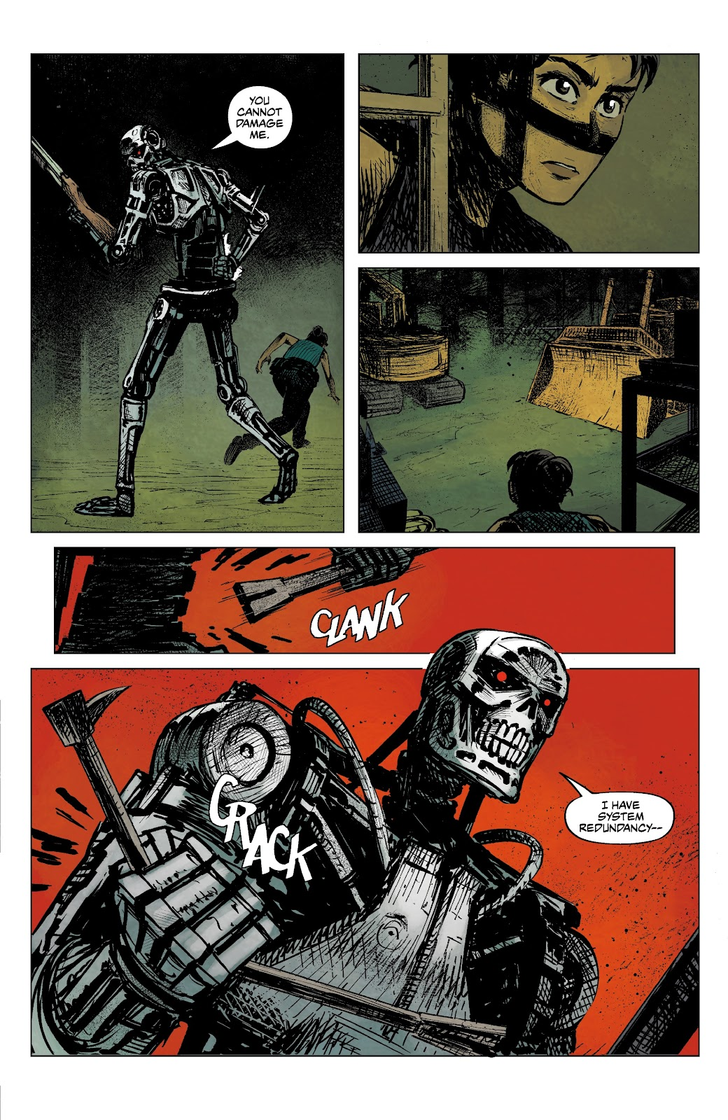 Read online The Terminator: Sector War comic -  Issue #4 - 11
