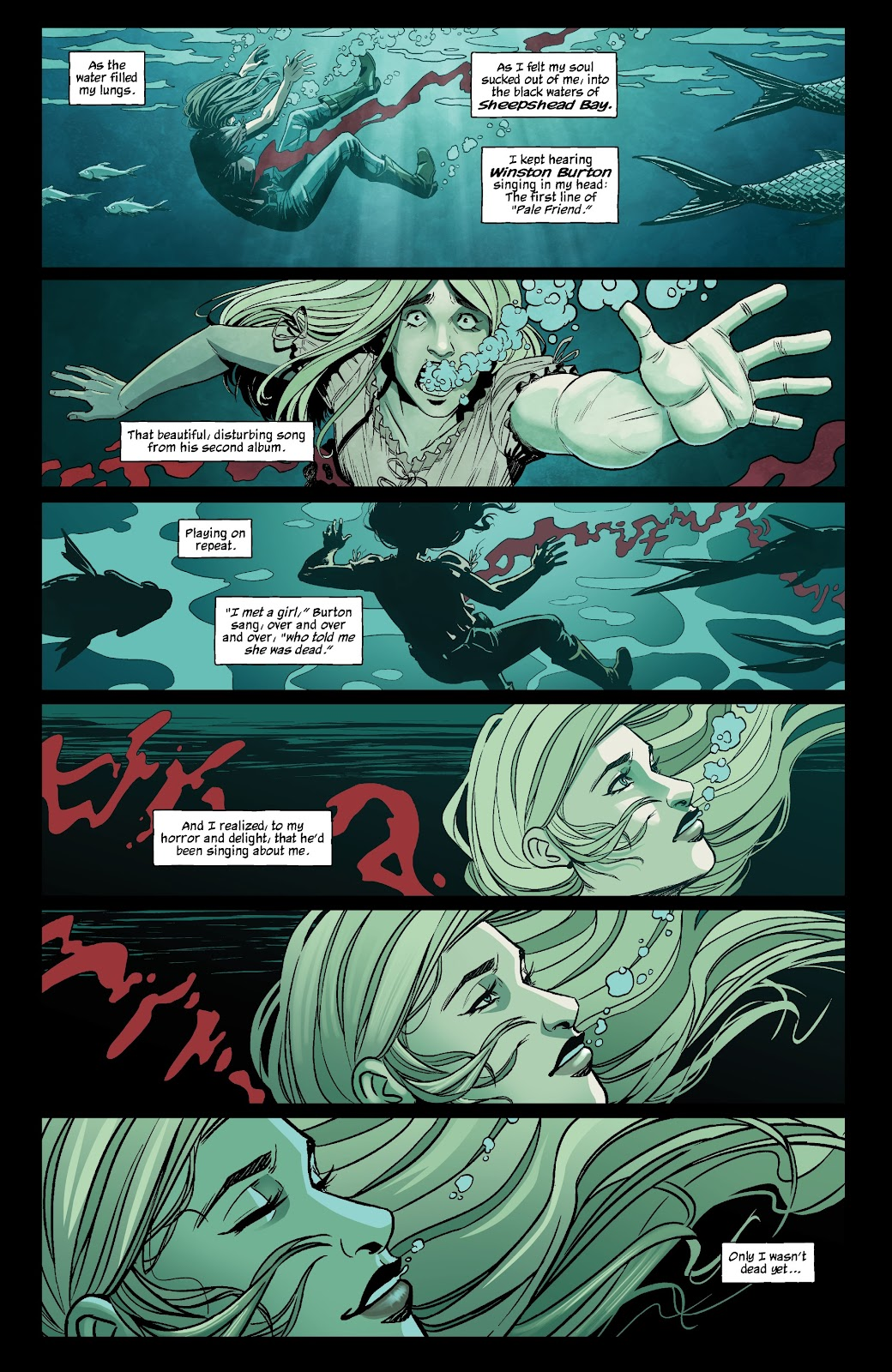 Read online The Girl In The Bay comic -  Issue #1 - 12