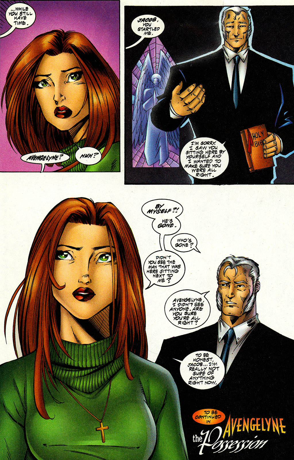 Read online Avengelyne (1996) comic -  Issue #9 - 15