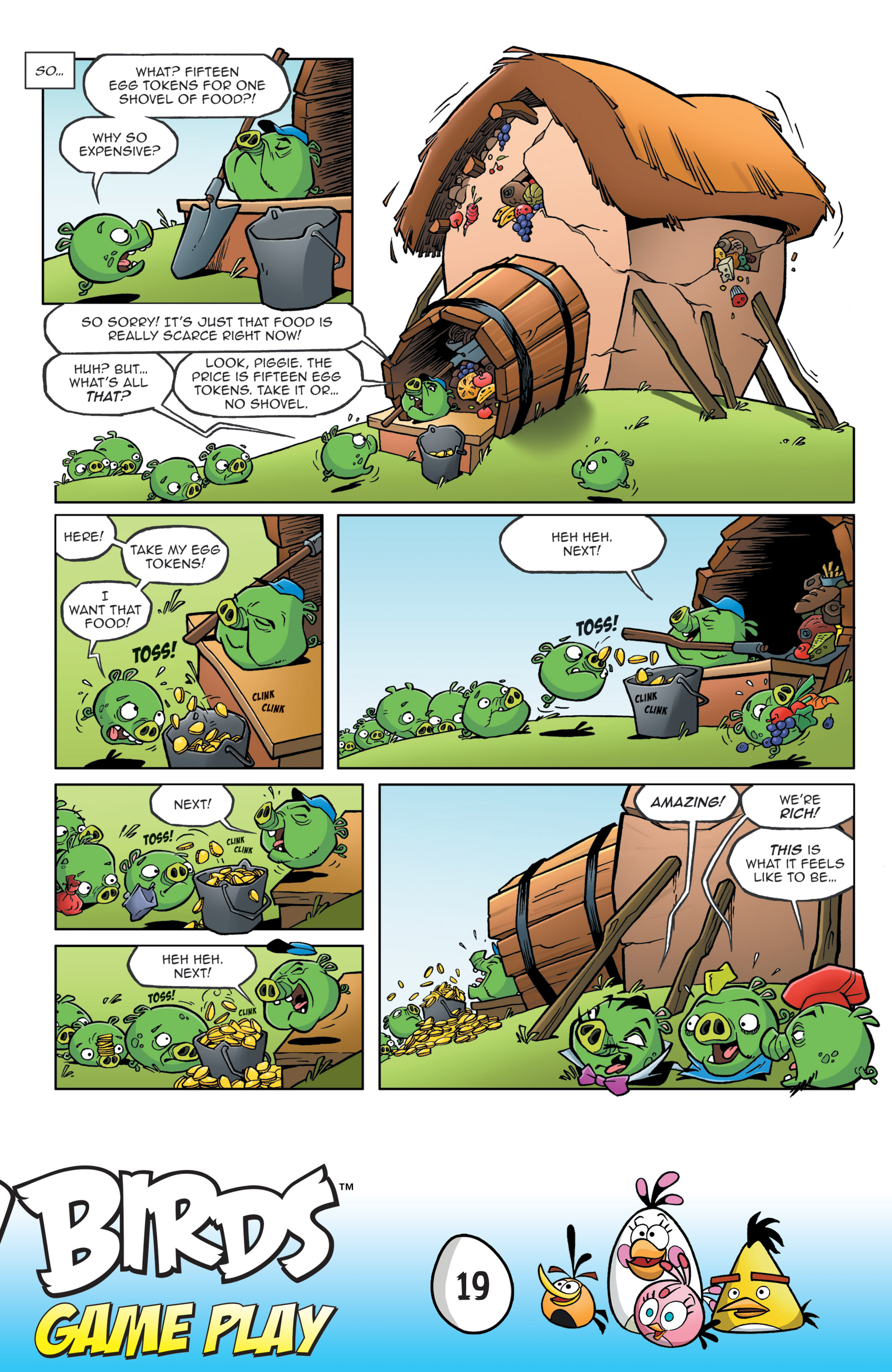 Read online Angry Birds Comics: Game Play comic -  Issue #3 - 21