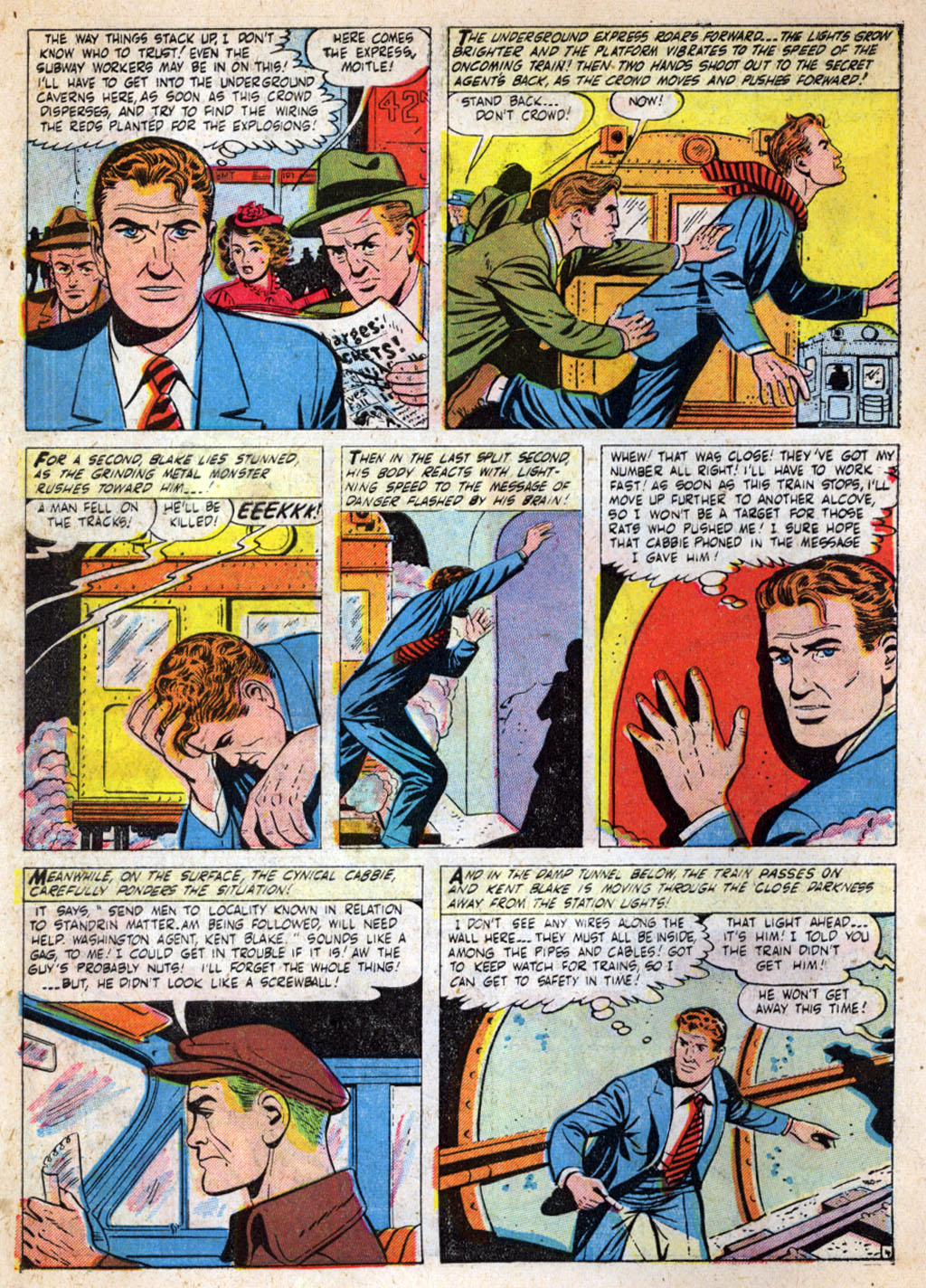 Kent Blake of the Secret Service issue 4 - Page 6