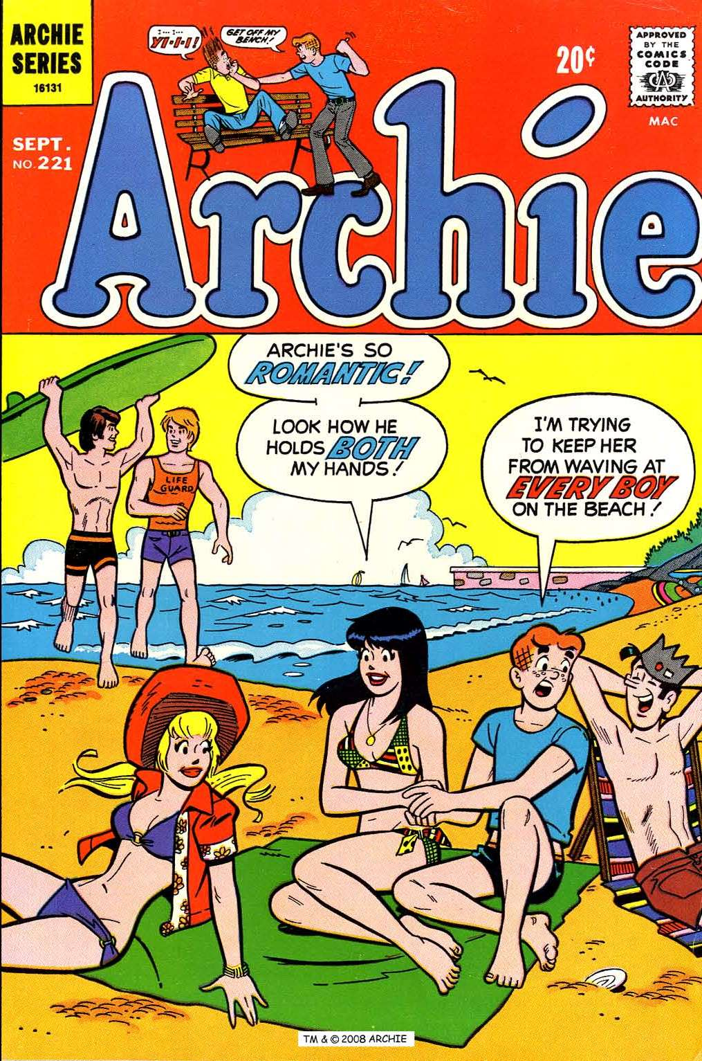 Read online Archie (1960) comic -  Issue #221 - 1