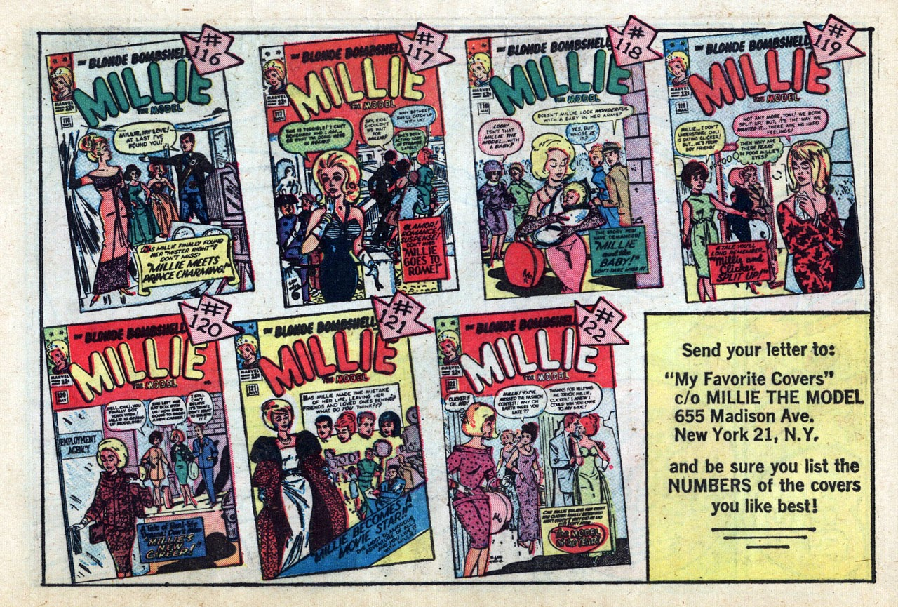Read online Millie the Model comic -  Issue # Annual 3 - 37