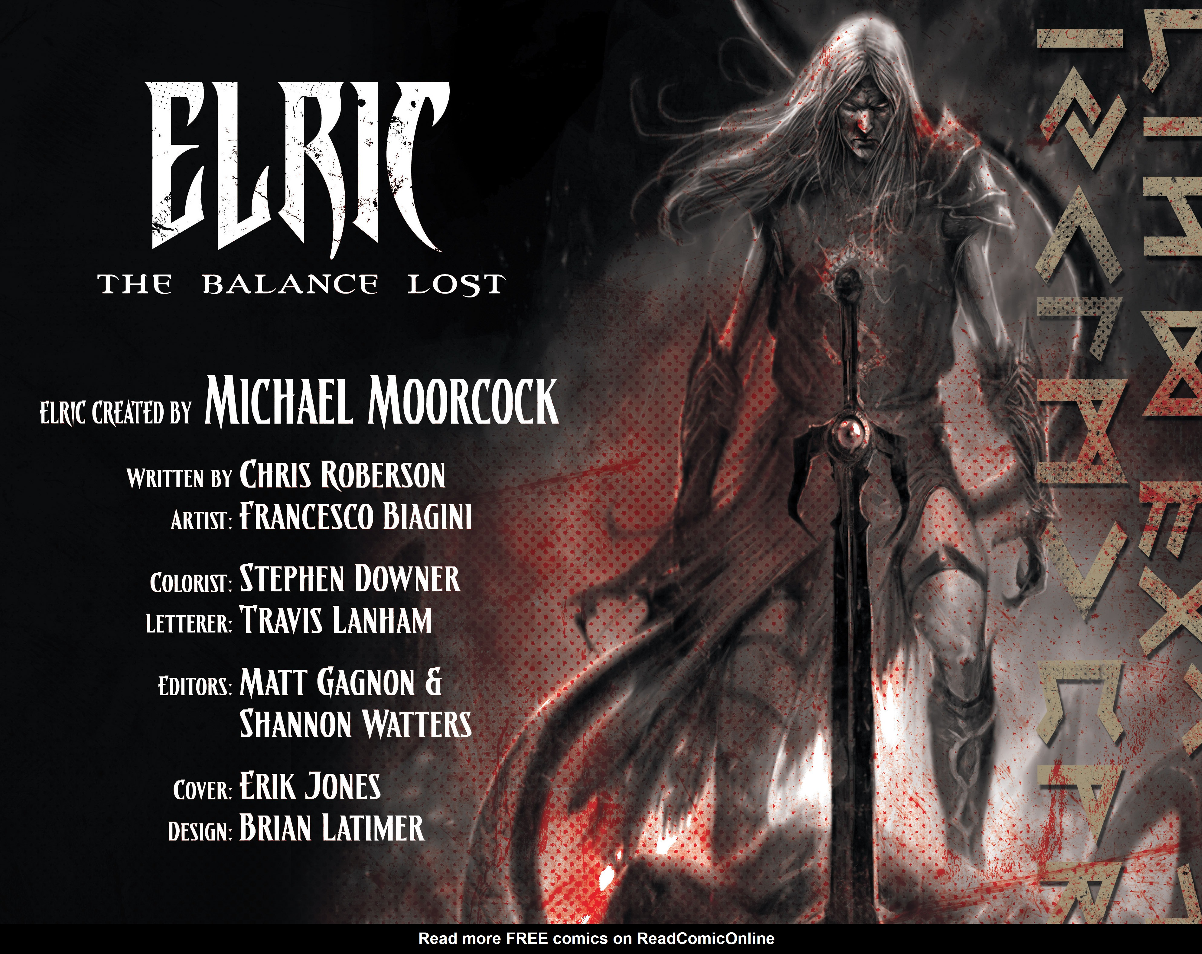 Read online Elric: The Balance Lost comic -  Issue # TPB 1 - 4