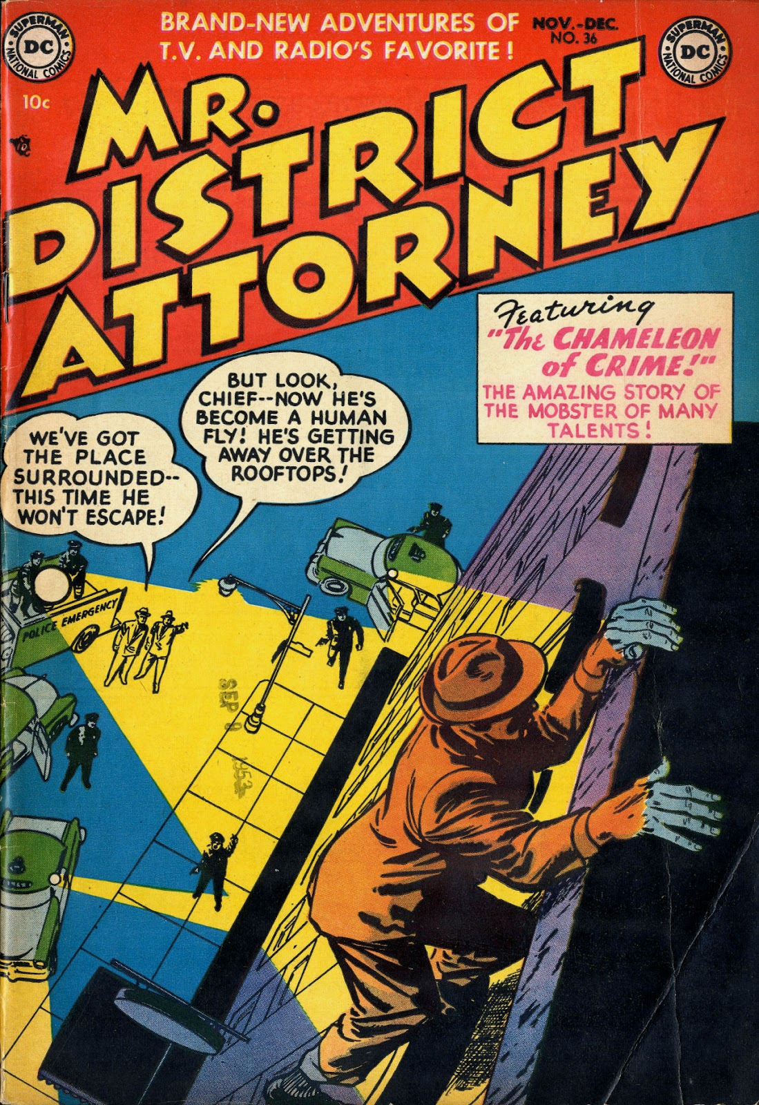 Mr. District Attorney issue 36 - Page 1