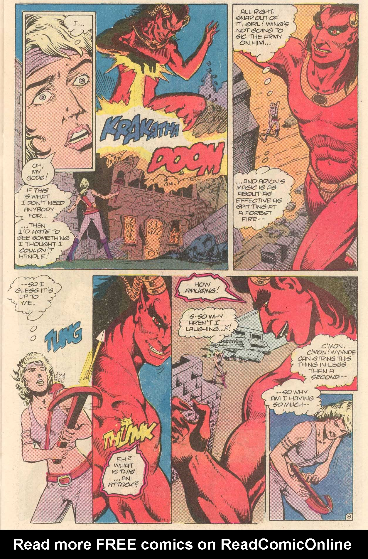 Read online Arion, Lord of Atlantis comic -  Issue #27 - 9