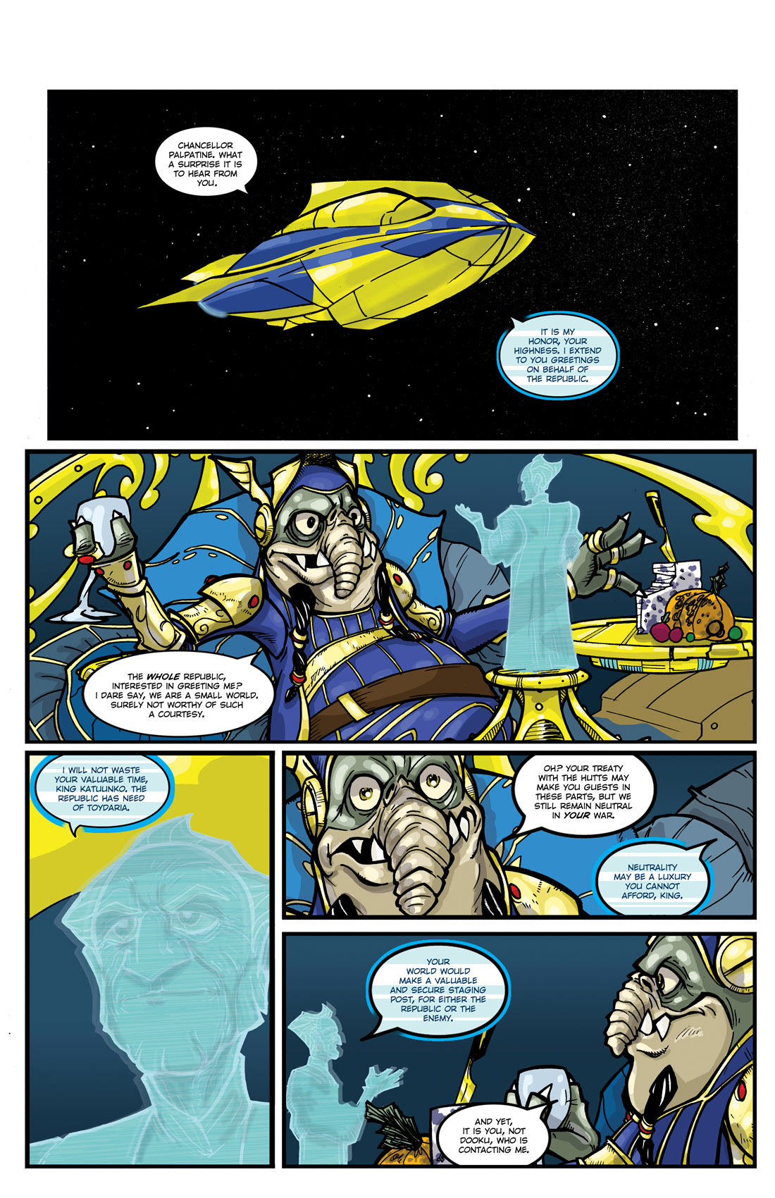Read online Star Wars: Tales From The Clone Wars comic -  Issue # TPB - 6