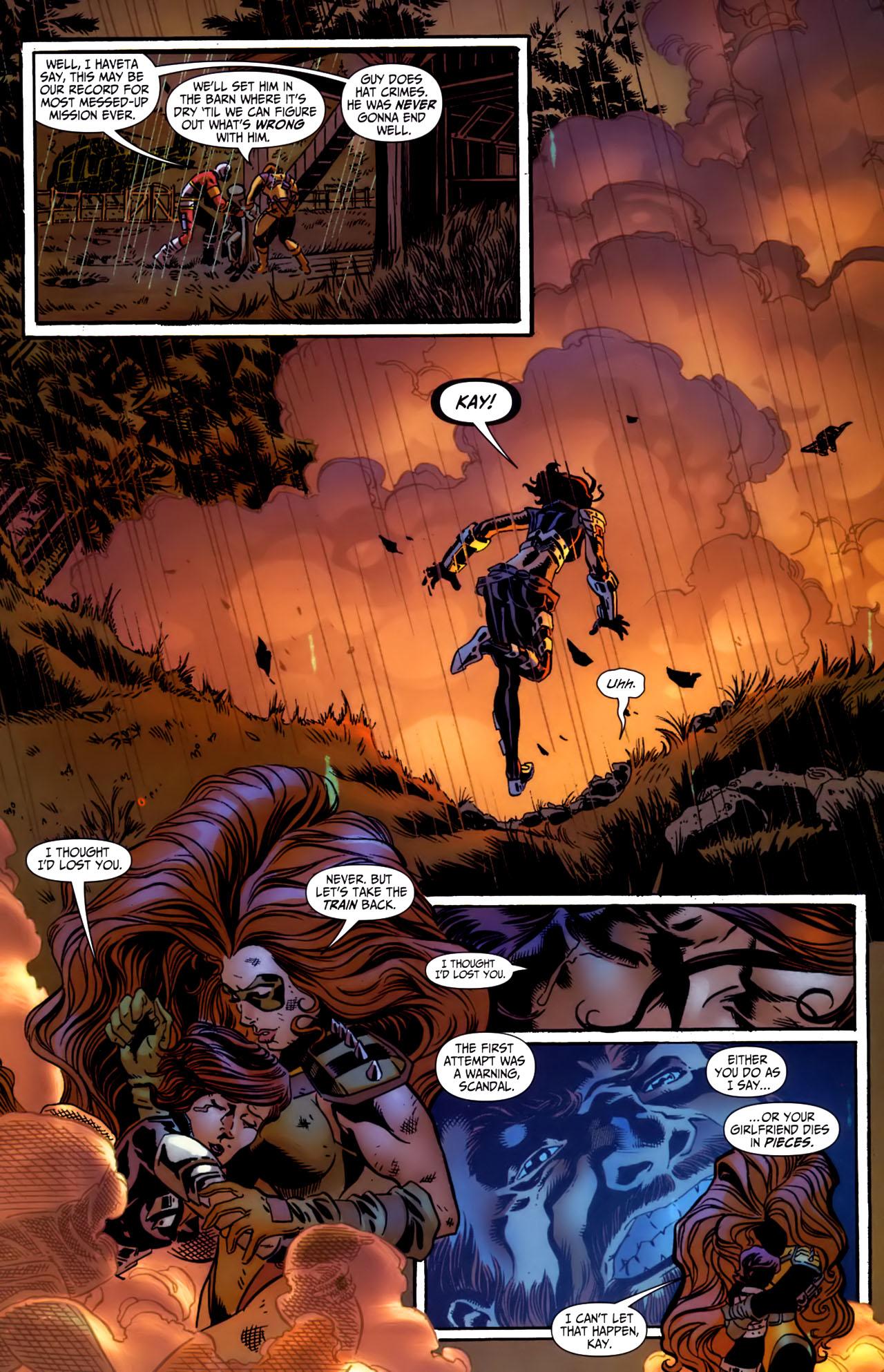 Read online Secret Six (2006) comic -  Issue #3 - 21