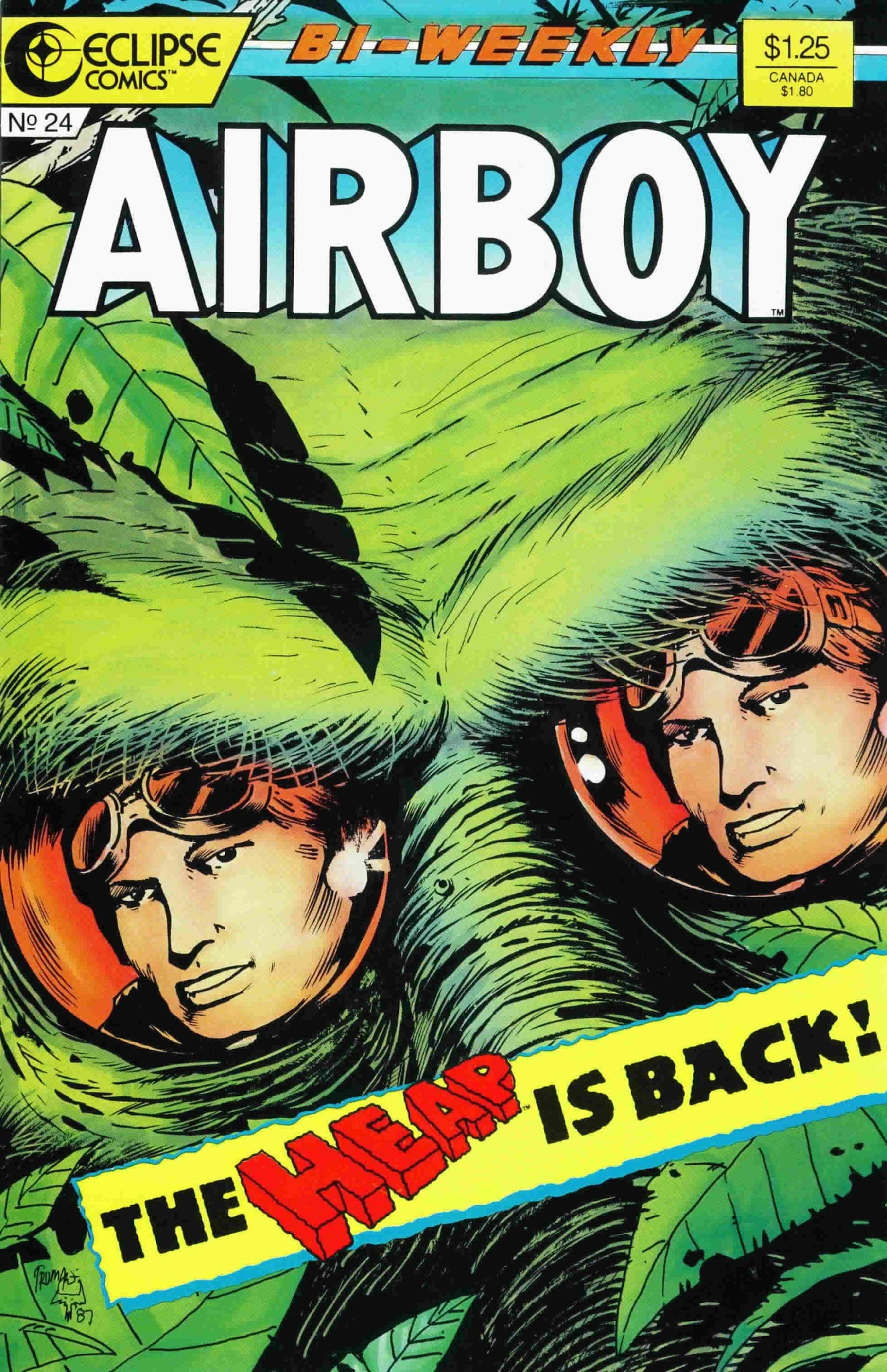 Airboy (1986) 24 Page 1