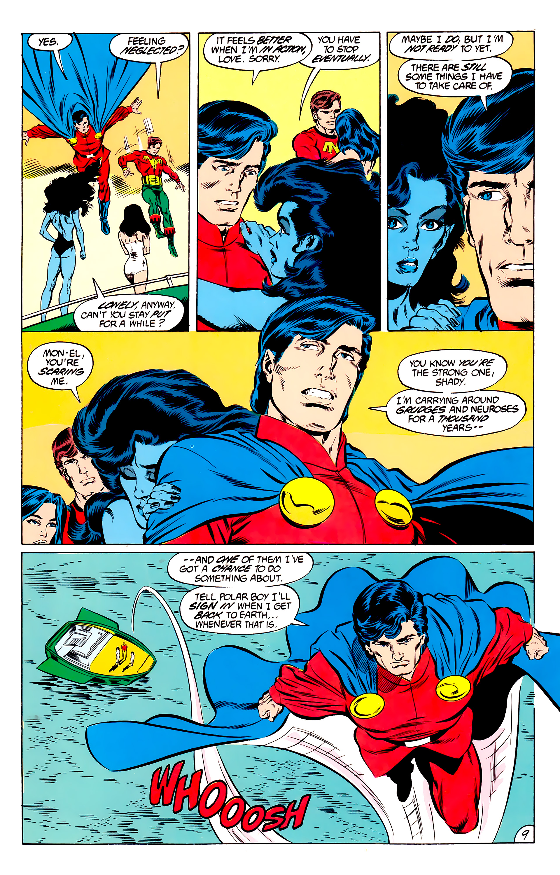 Legion of Super-Heroes (1984) 46 Page 9