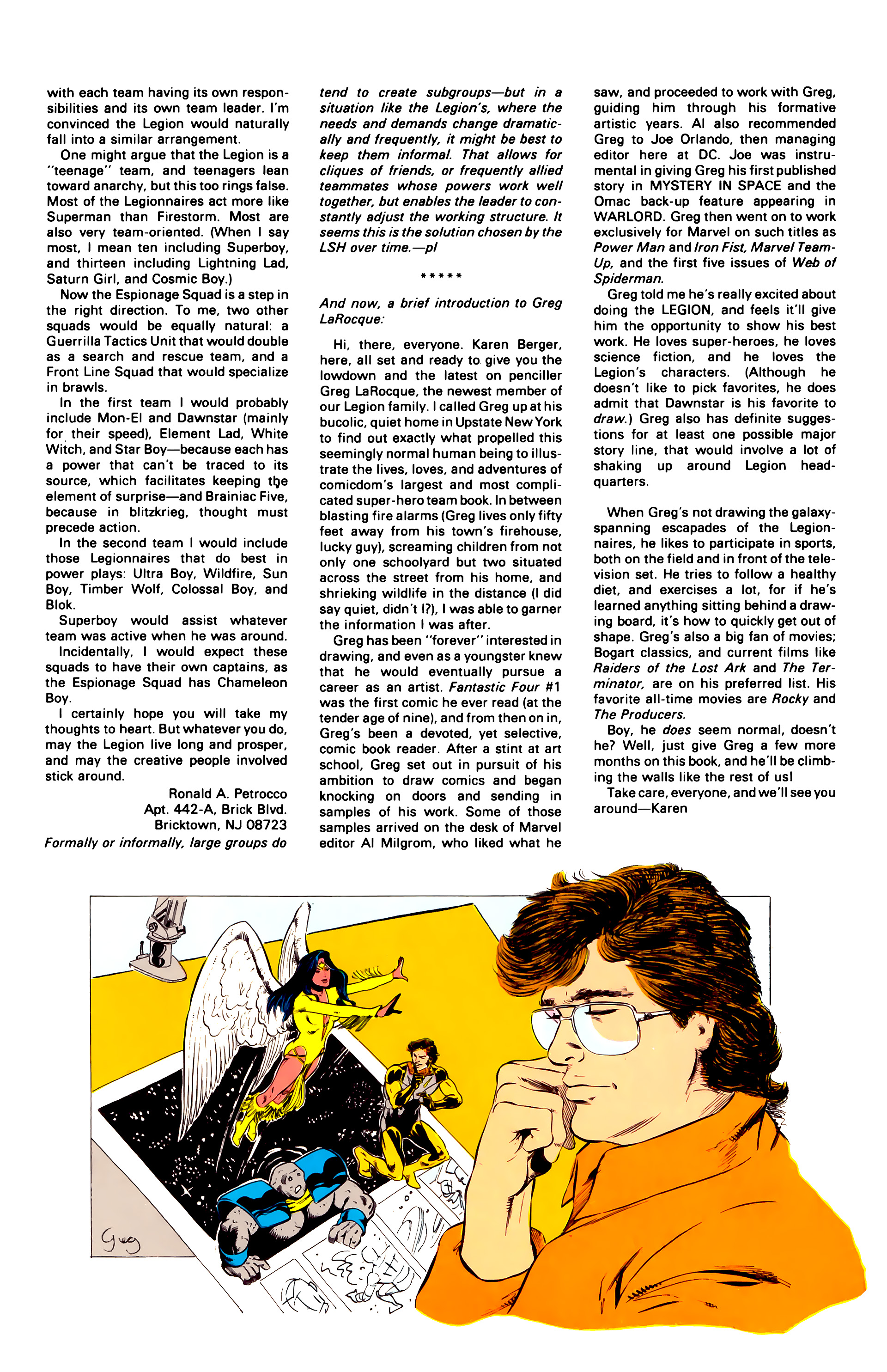 Legion of Super-Heroes (1984) 20 Page 31