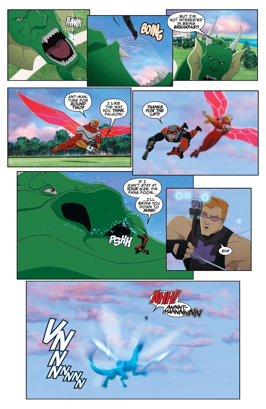 Read online Marvel Universe Avengers Assemble Season 2 comic -  Issue #9 - 5