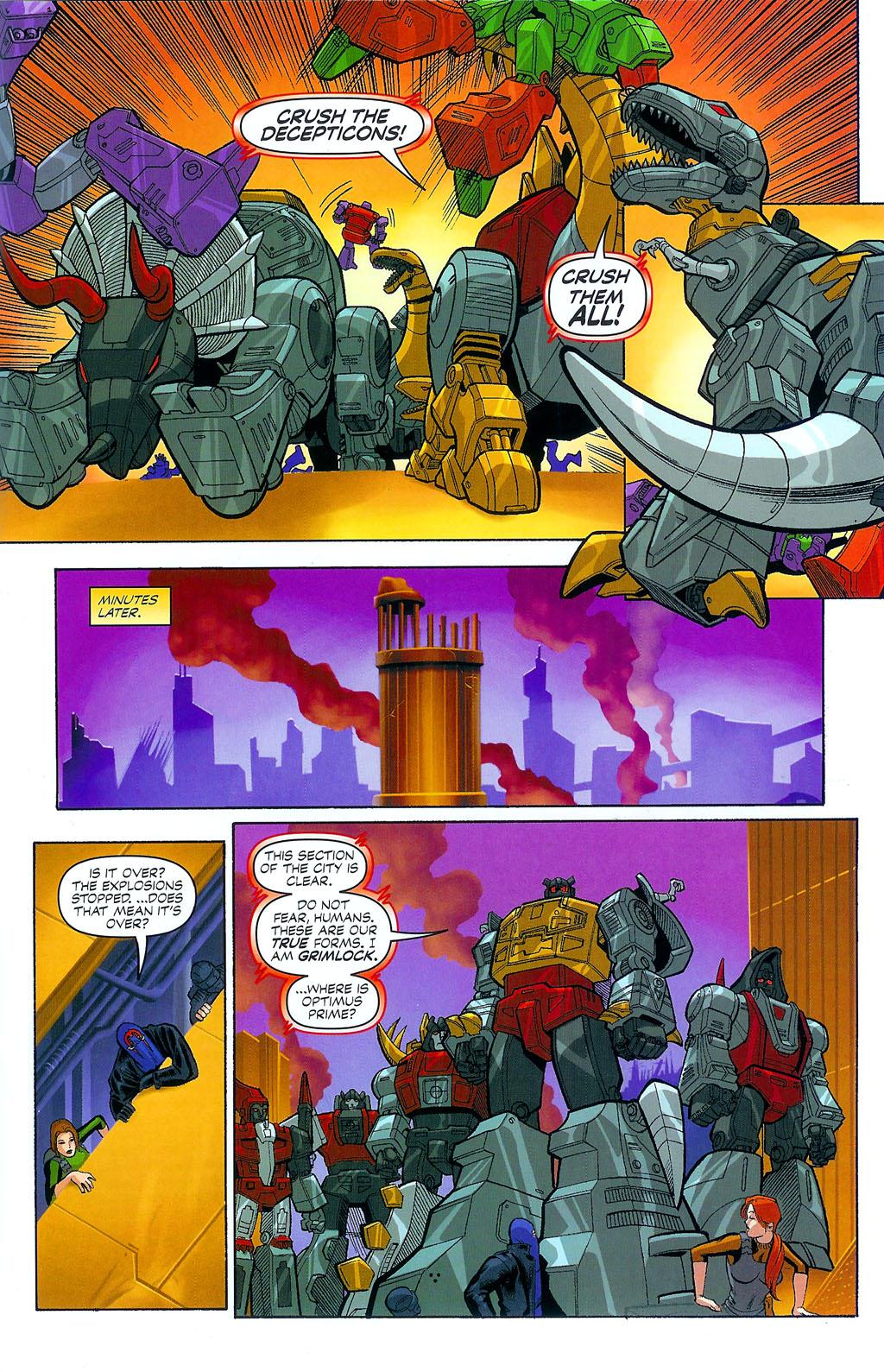 G.I. Joe vs. The Transformers II Issue #4 #5 - English 17