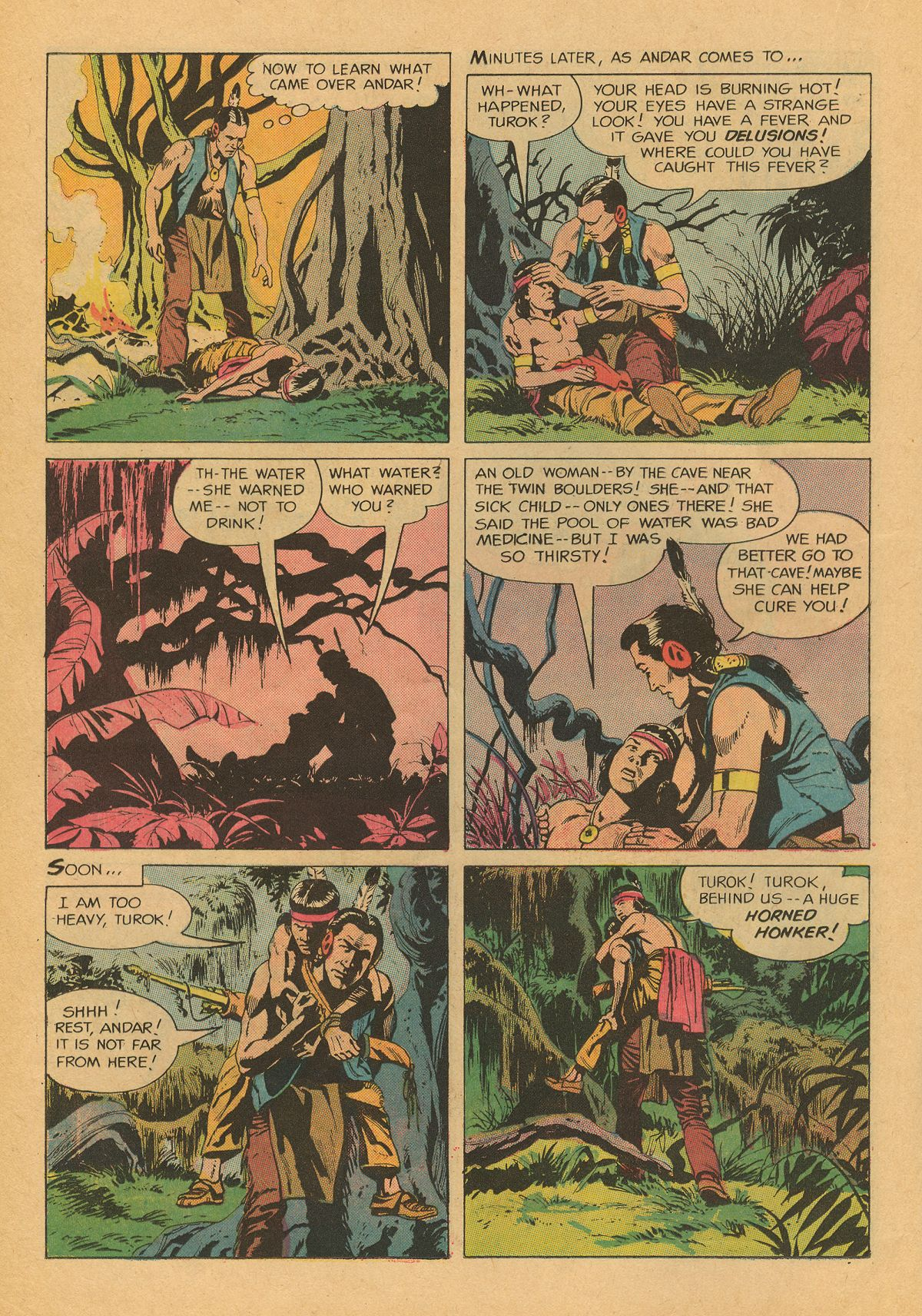 Read online Turok, Son of Stone comic -  Issue #75 - 21
