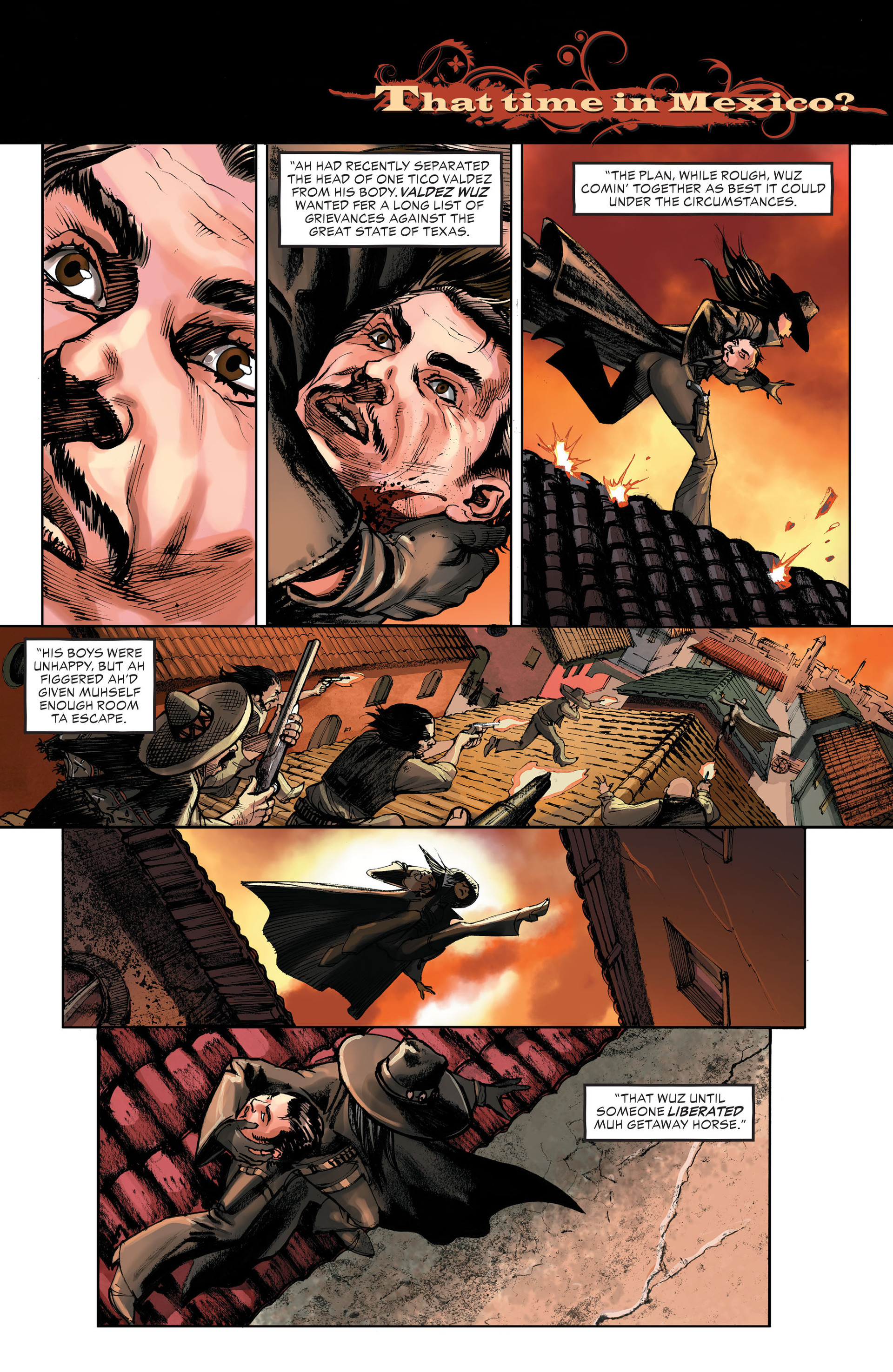 Read online All-Star Western (2011) comic -  Issue #32 - 15