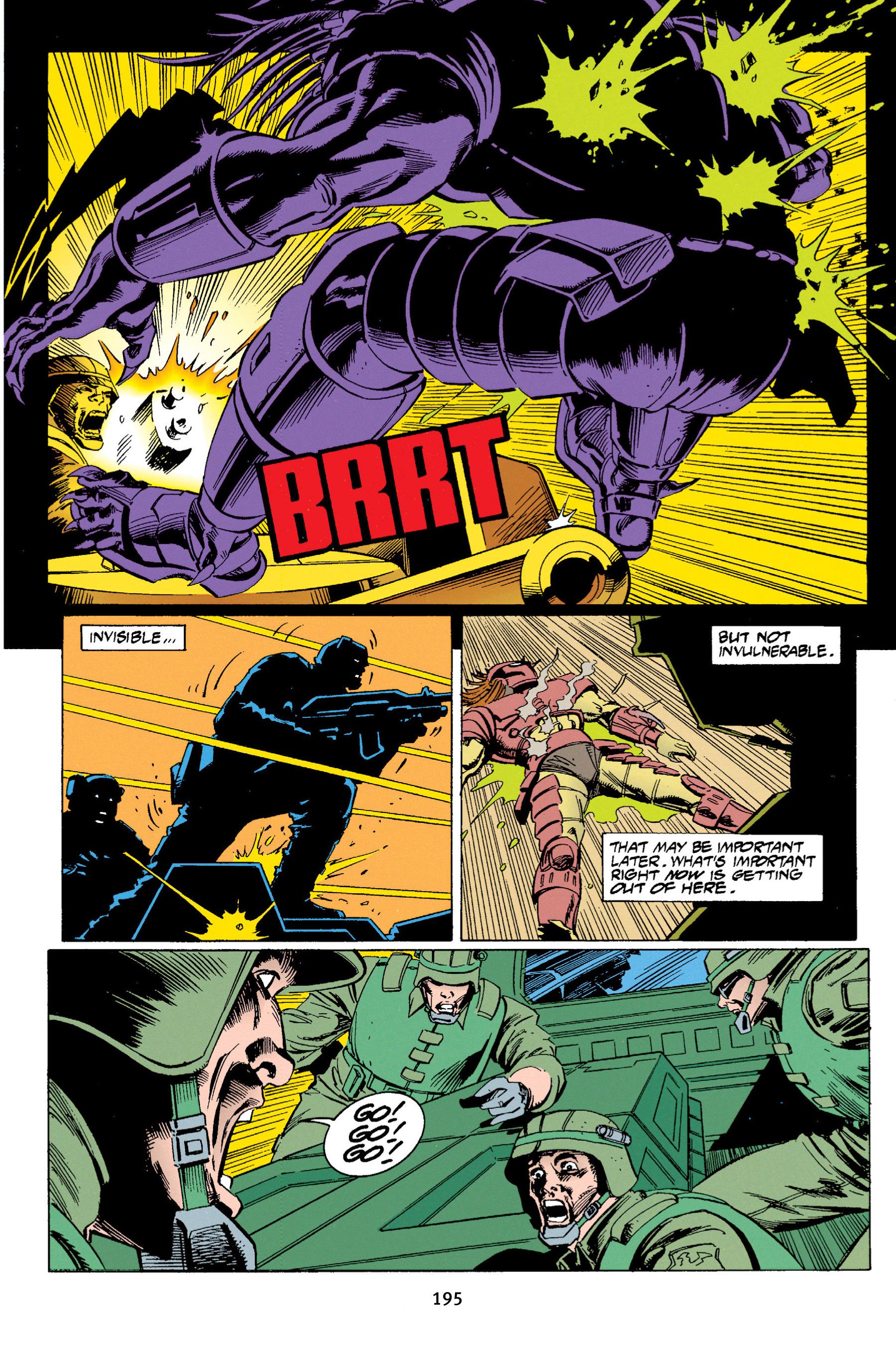 Read online Aliens vs. Predator Omnibus comic -  Issue # _TPB 1 Part 2 - 91