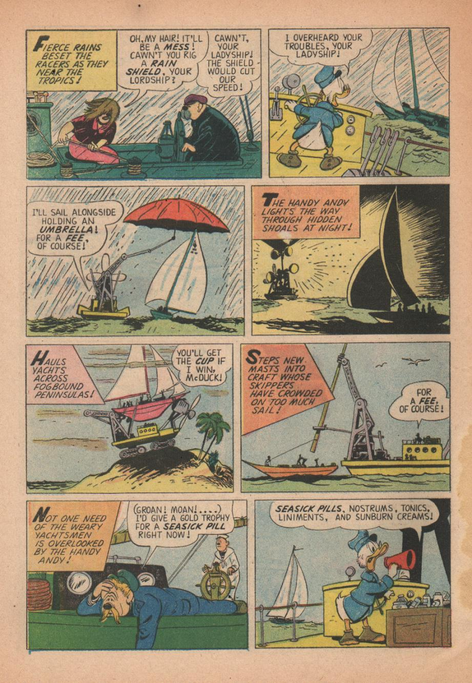 Read online Uncle Scrooge (1953) comic -  Issue #27 - 32
