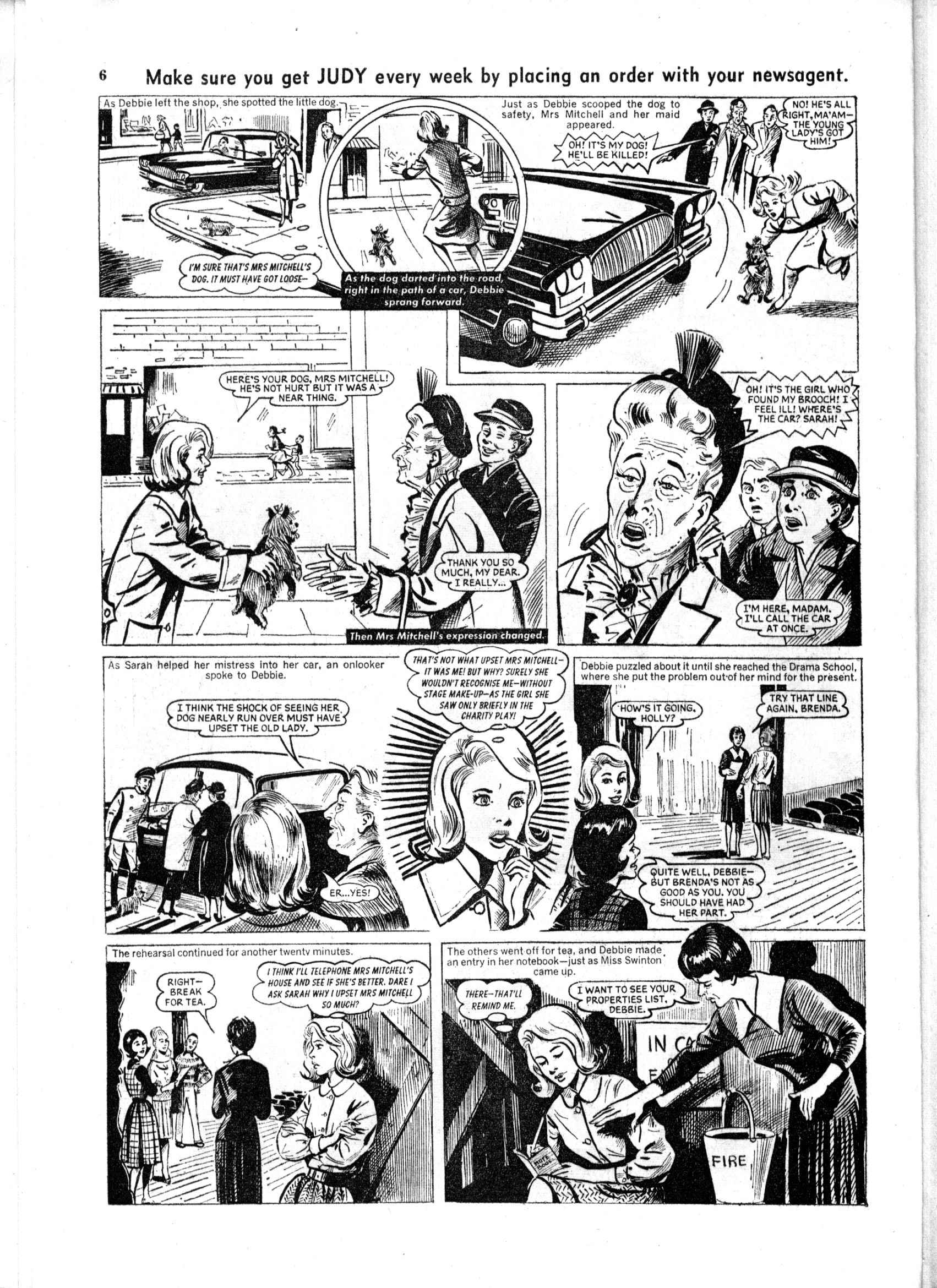 Read online Judy comic -  Issue #165 - 6