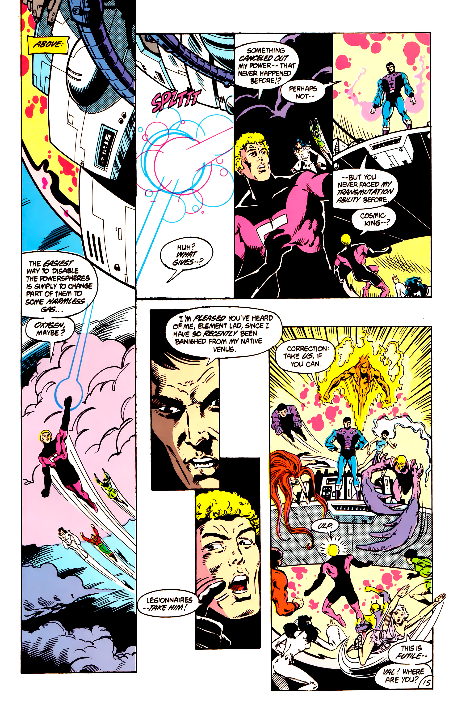 Legion of Super-Heroes (1984) 4 Page 16