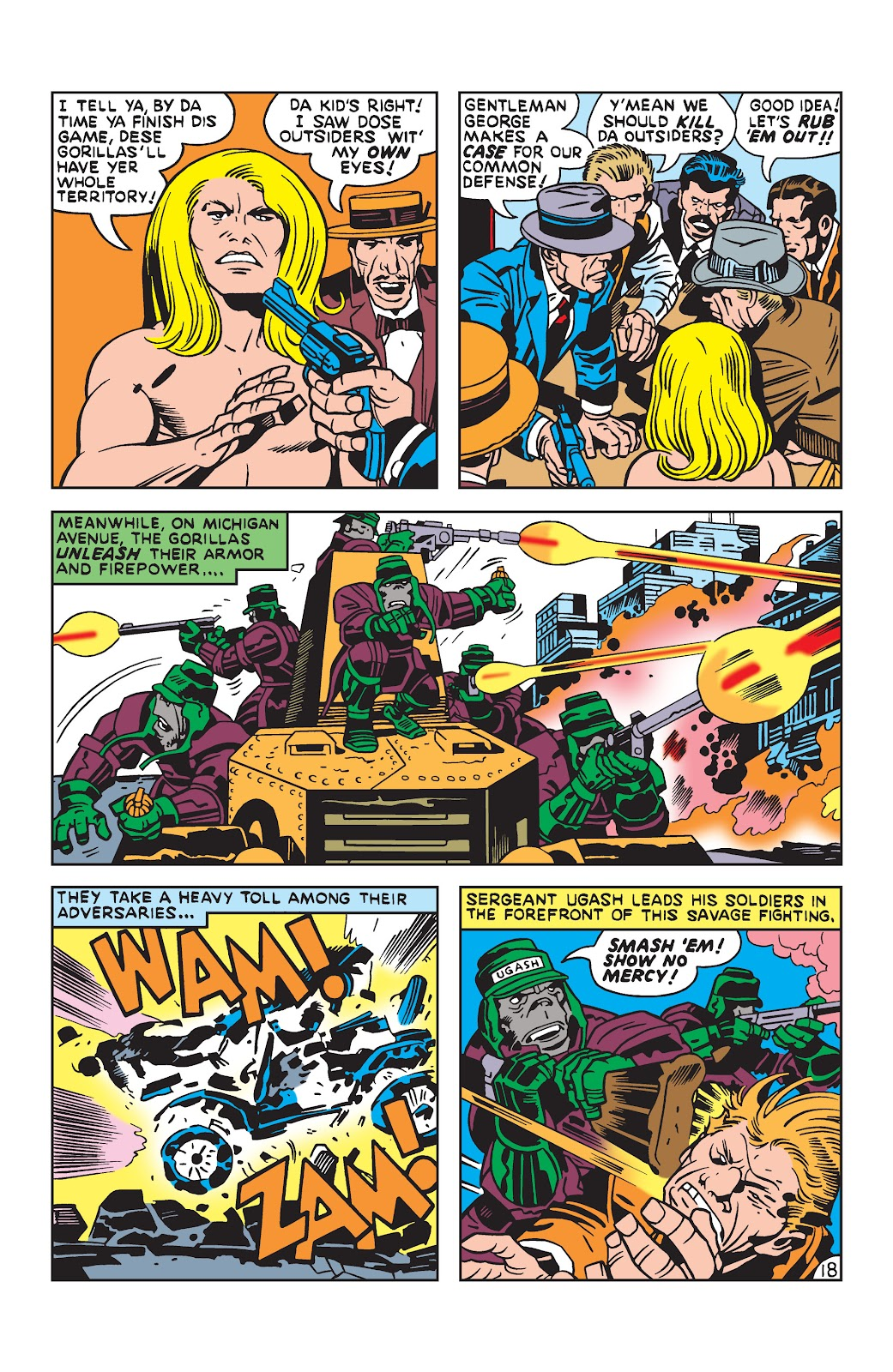Kamandi, The Last Boy On Earth issue 19 - Page 18
