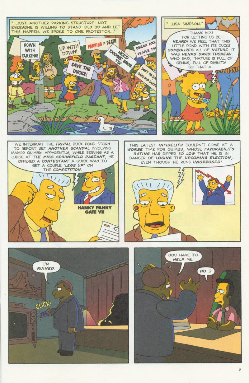 Read online Simpsons Comics comic -  Issue #58 - 4