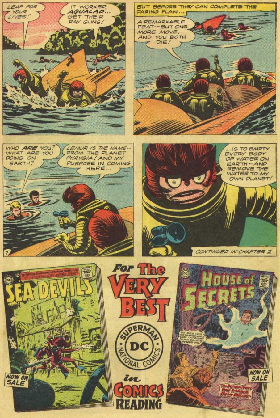 Read online Aquaman (1962) comic -  Issue #8 - 9
