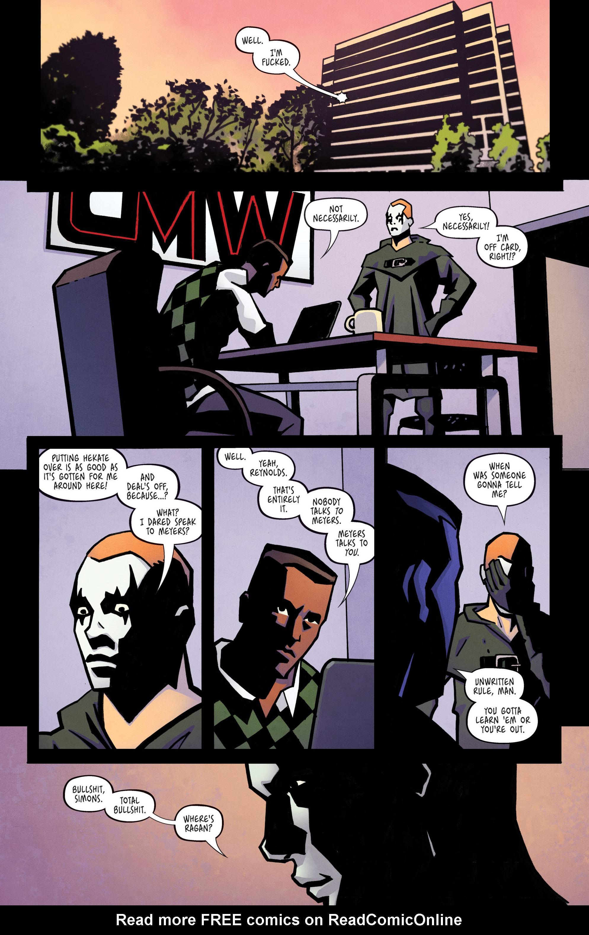 Read online Ringside comic -  Issue #10 - 4