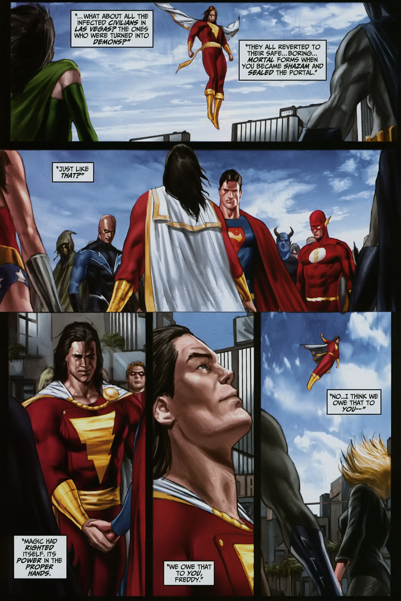 Read online Trials of Shazam comic -  Issue #12 - 26
