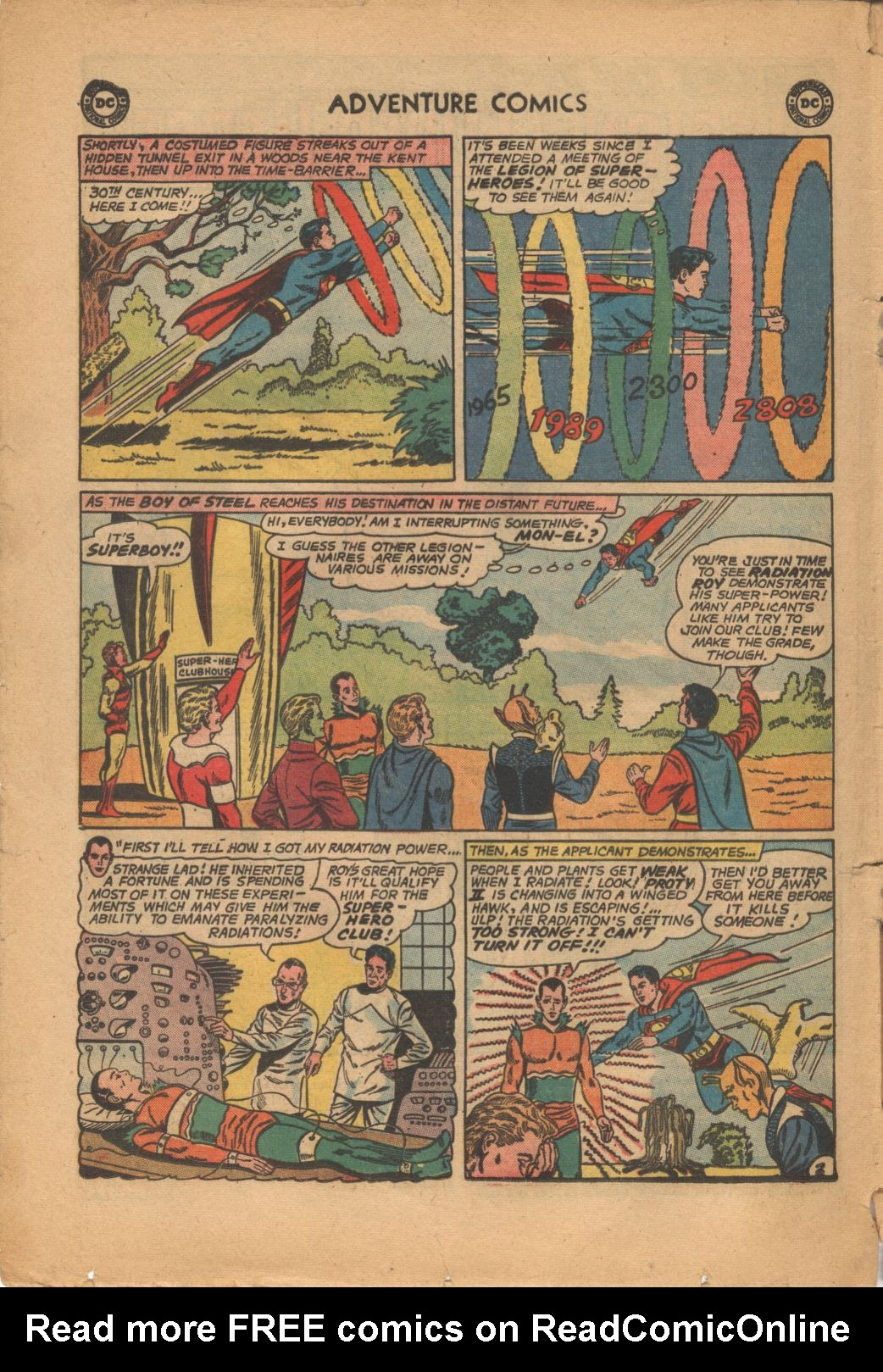 Read online Adventure Comics (1938) comic -  Issue #320 - 4