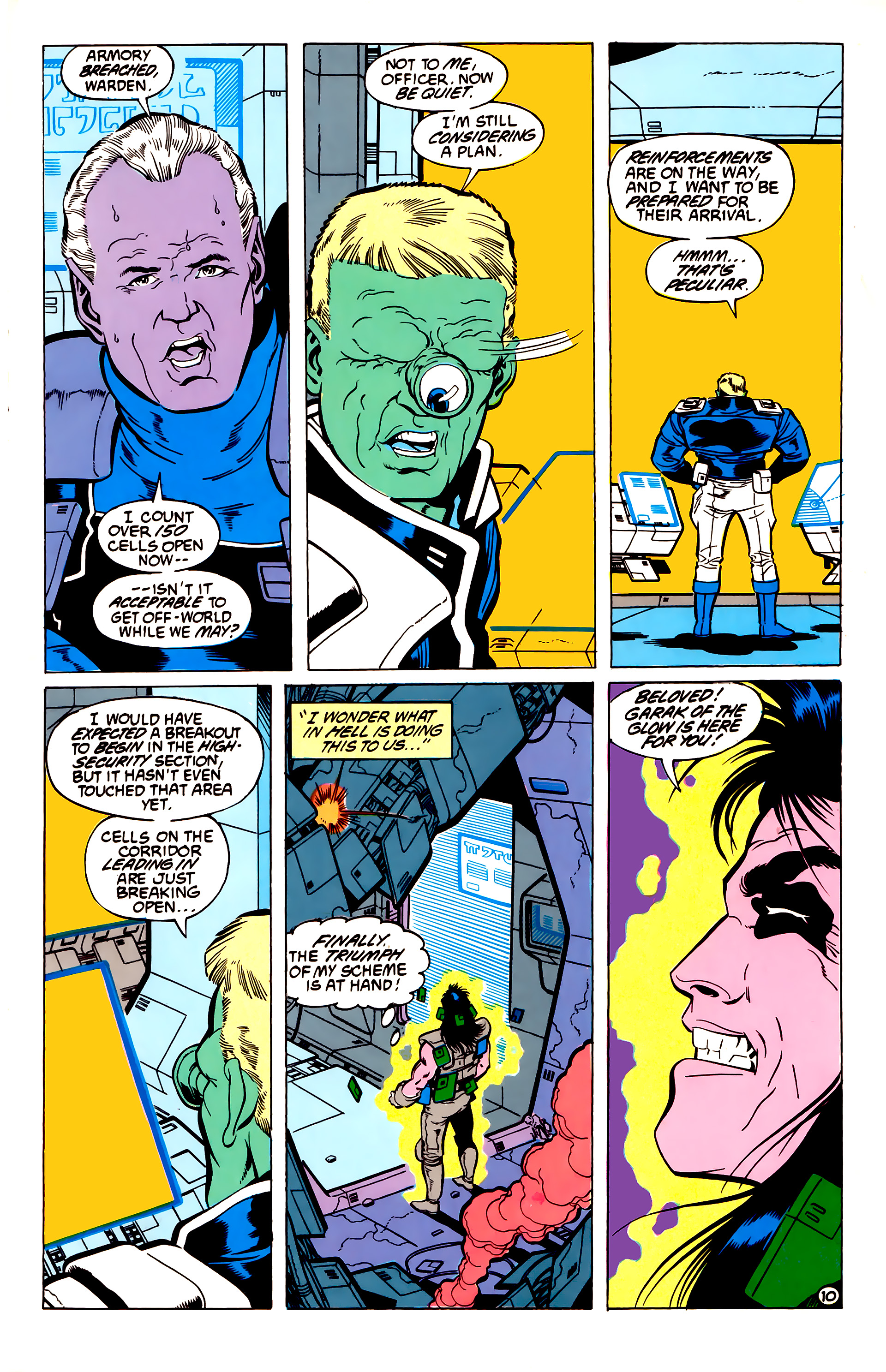 Legion of Super-Heroes (1984) 54 Page 10