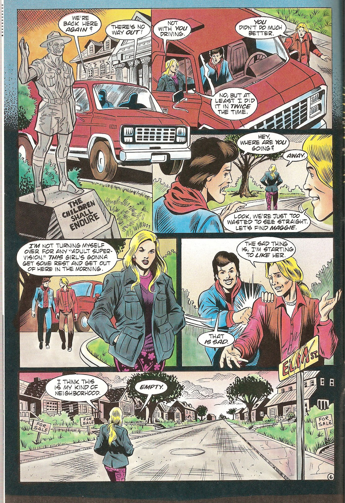Read online Freddy's Dead: The Final Nightmare comic -  Issue #2 - 8