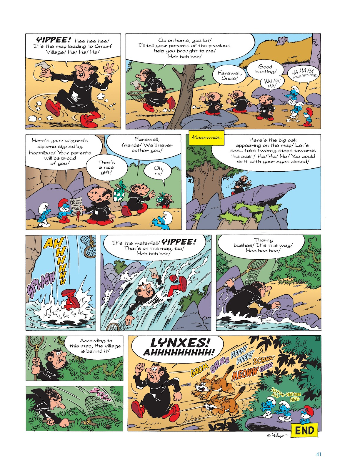 Read online The Smurfs comic -  Issue #17 - 41