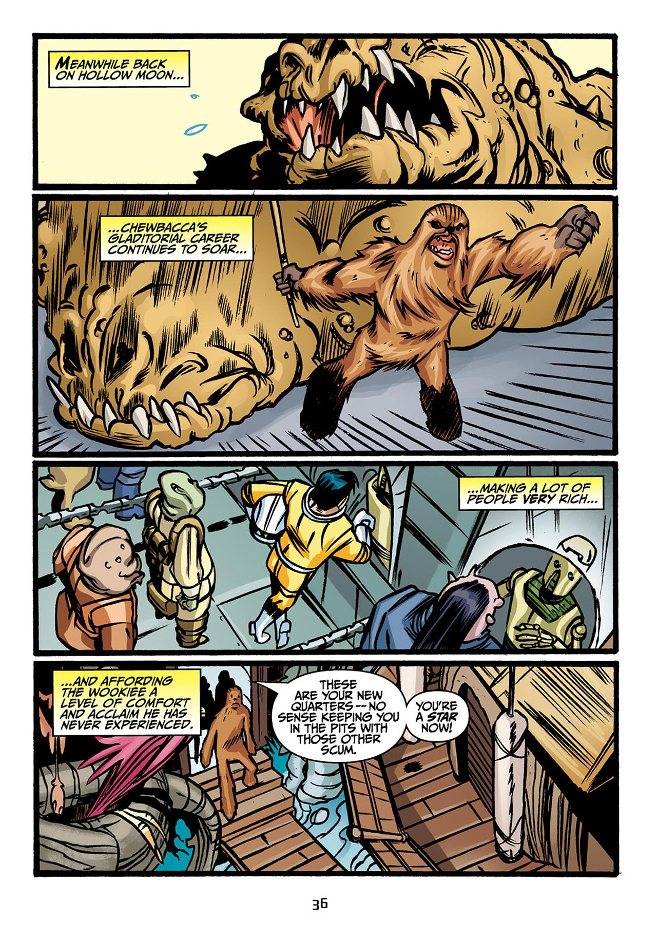 Read online Star Wars Omnibus comic -  Issue # Vol. 33 - 38